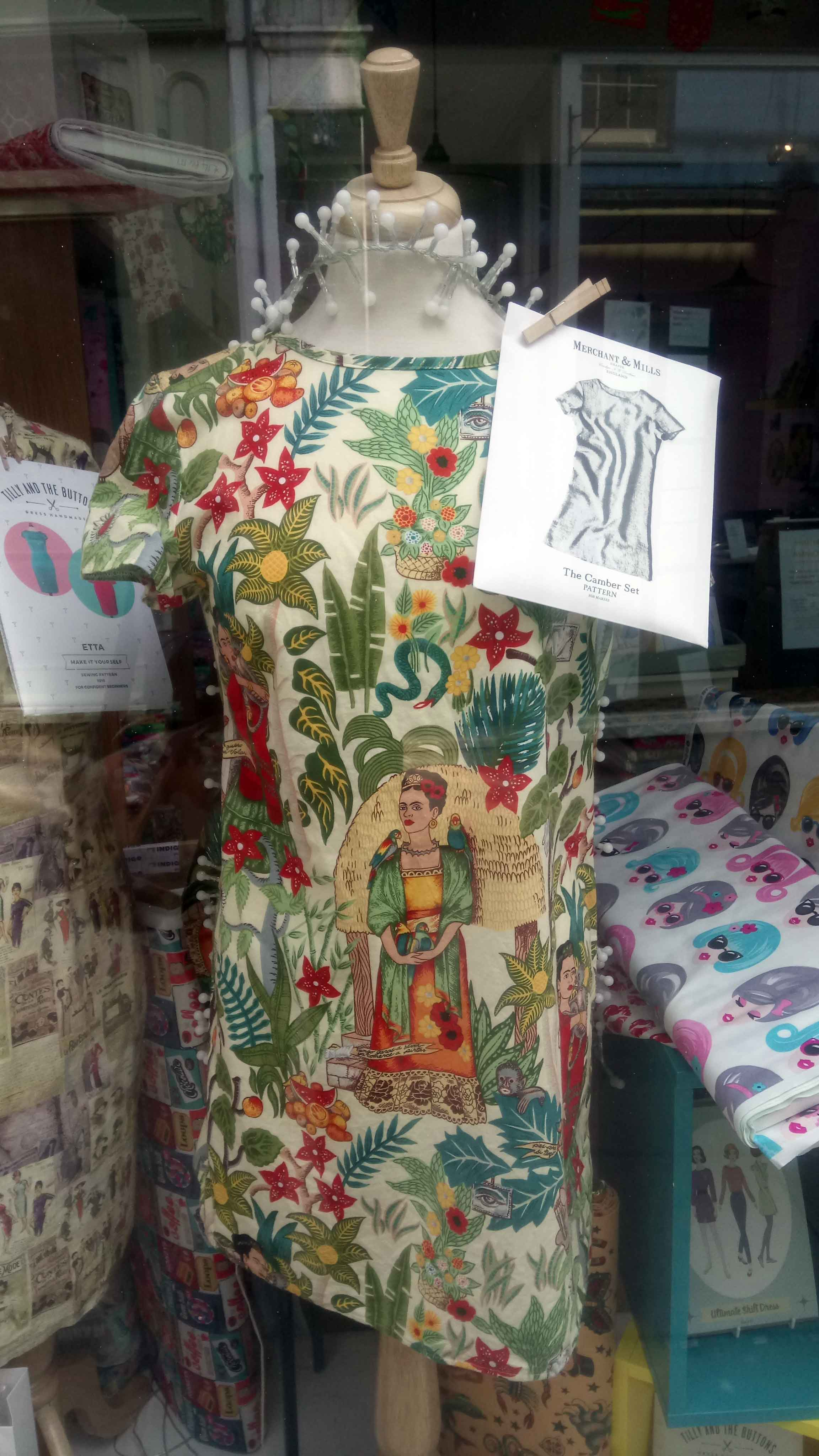 Miss Ginger's Sewing Shop