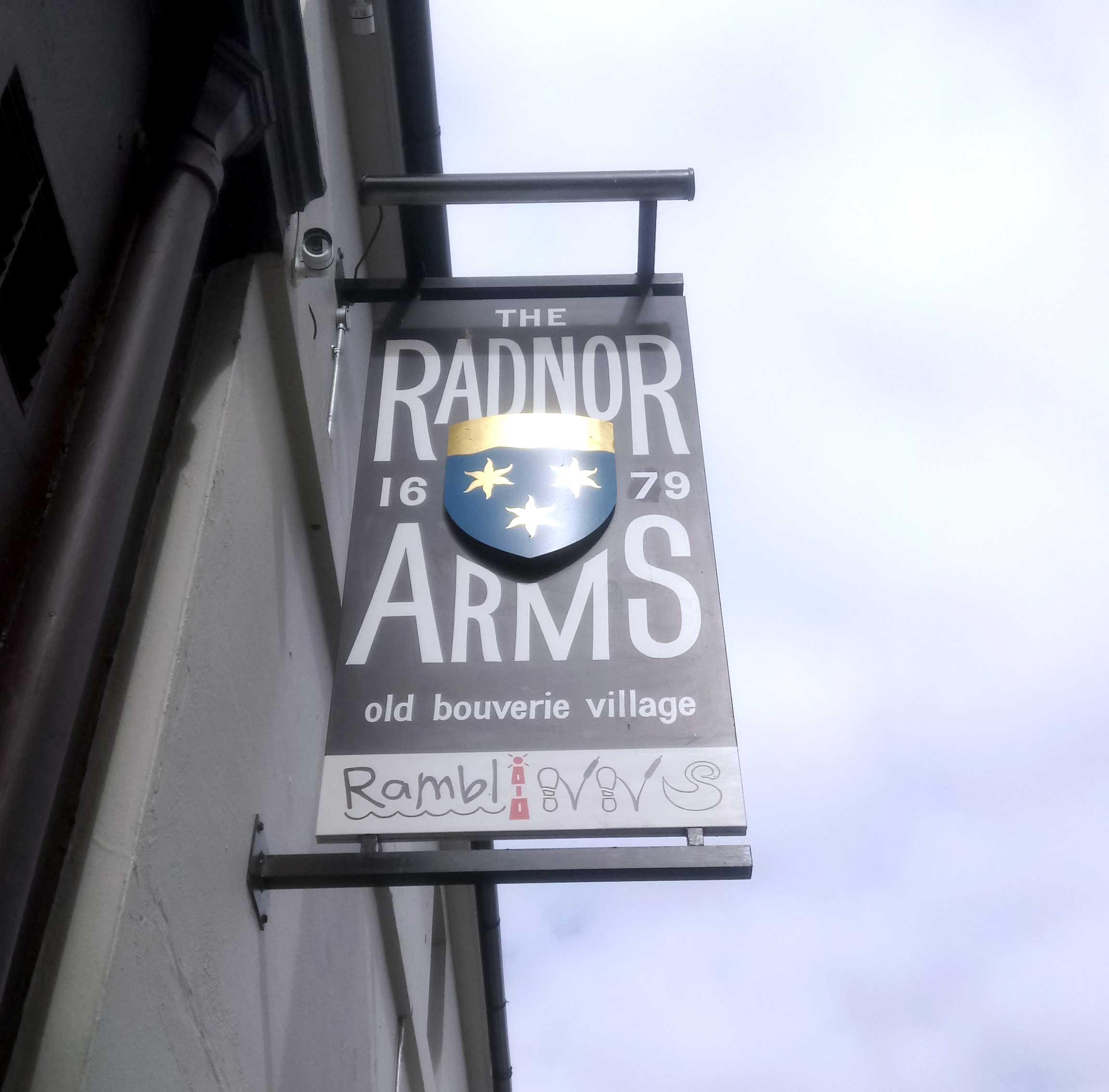 Radnor Arms Folkestone