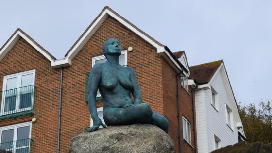 Real Folkestone Mermaid
