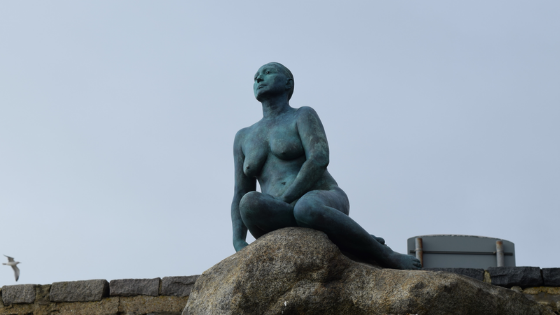 Real Folkestone Mermaid