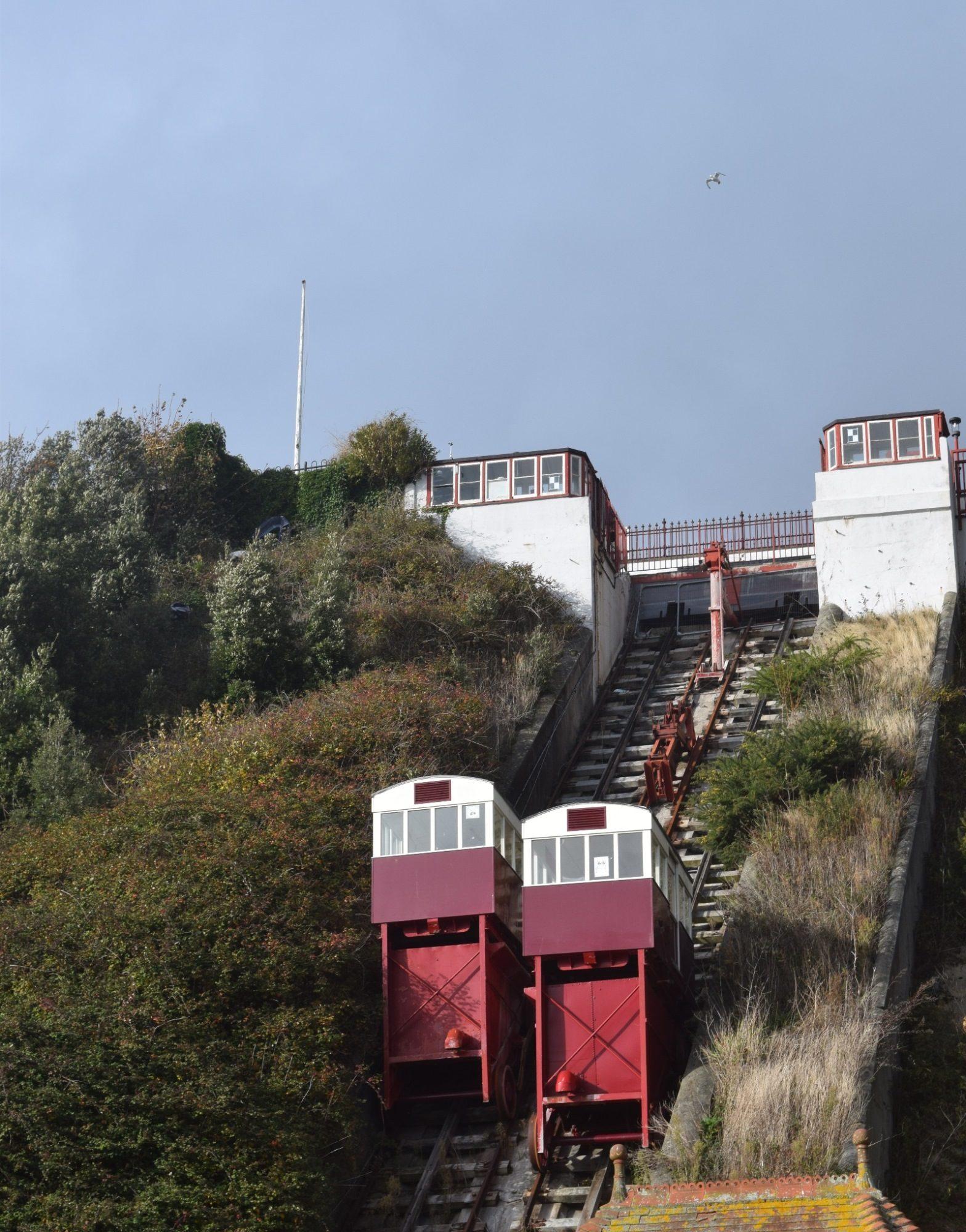 The Leas Lift in Folkestone