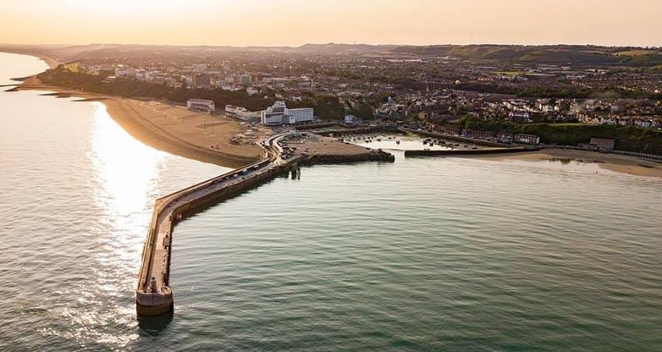 Regeneration Harbour Arm in Folkestone