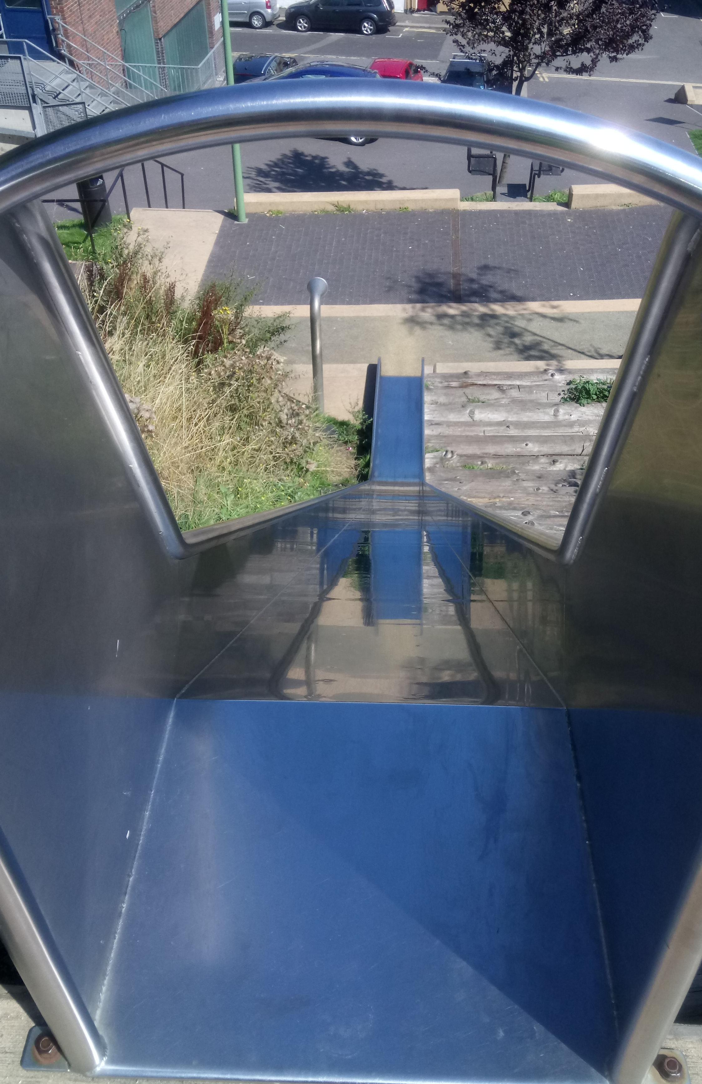 Payers Park Slide in Folkestone