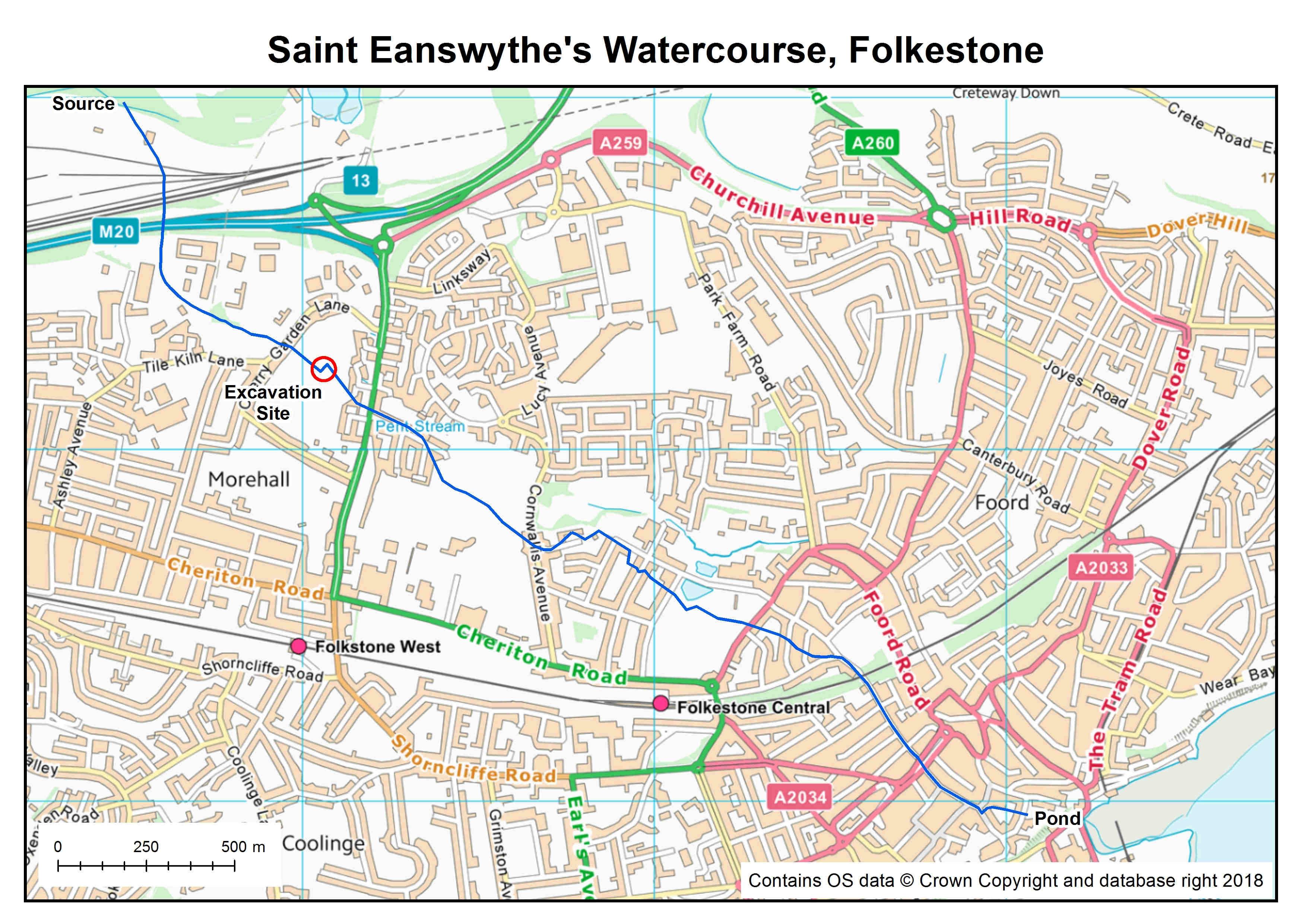 St Eanswythe Folkestone