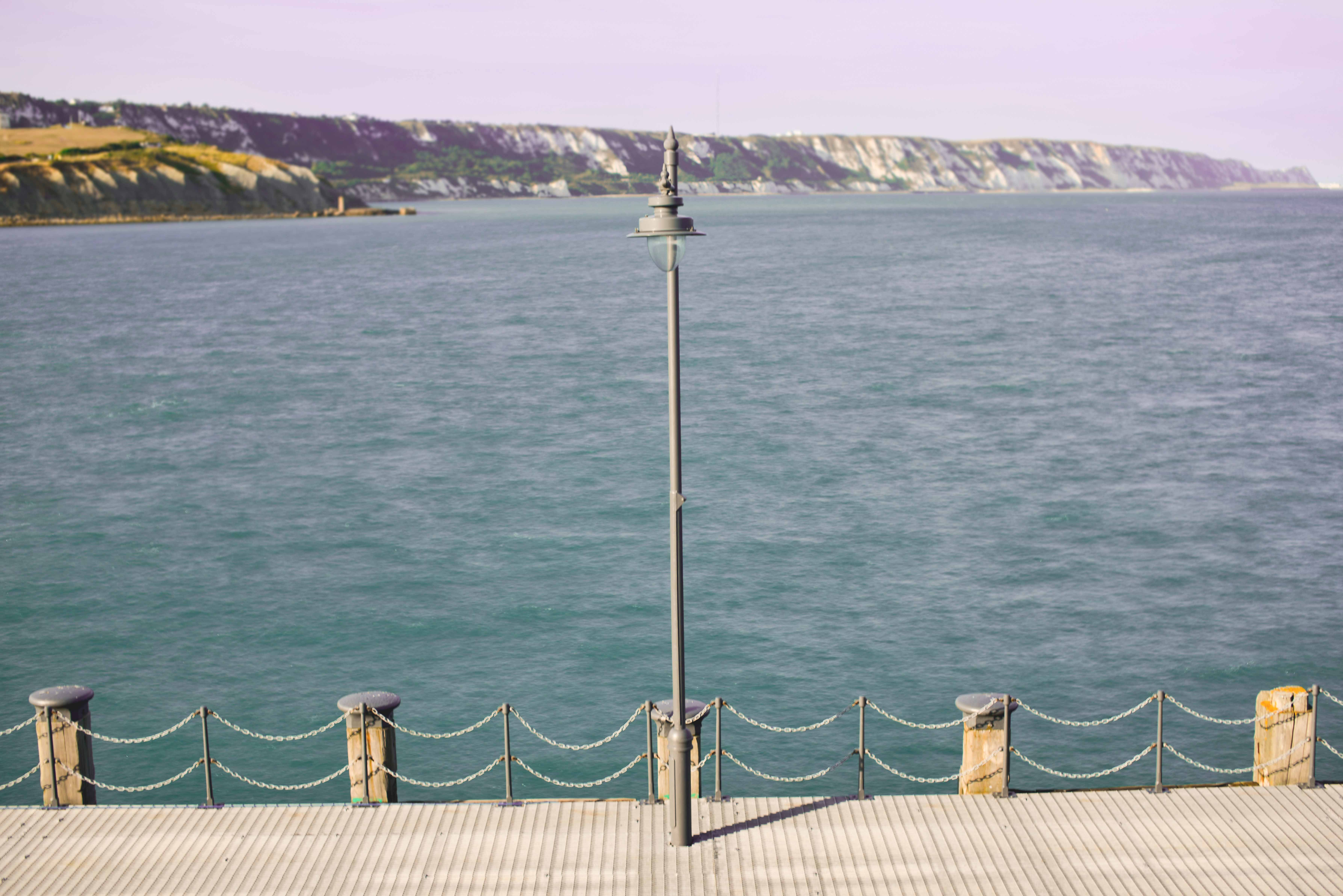 Folkestone Harbour Lamp and Posts