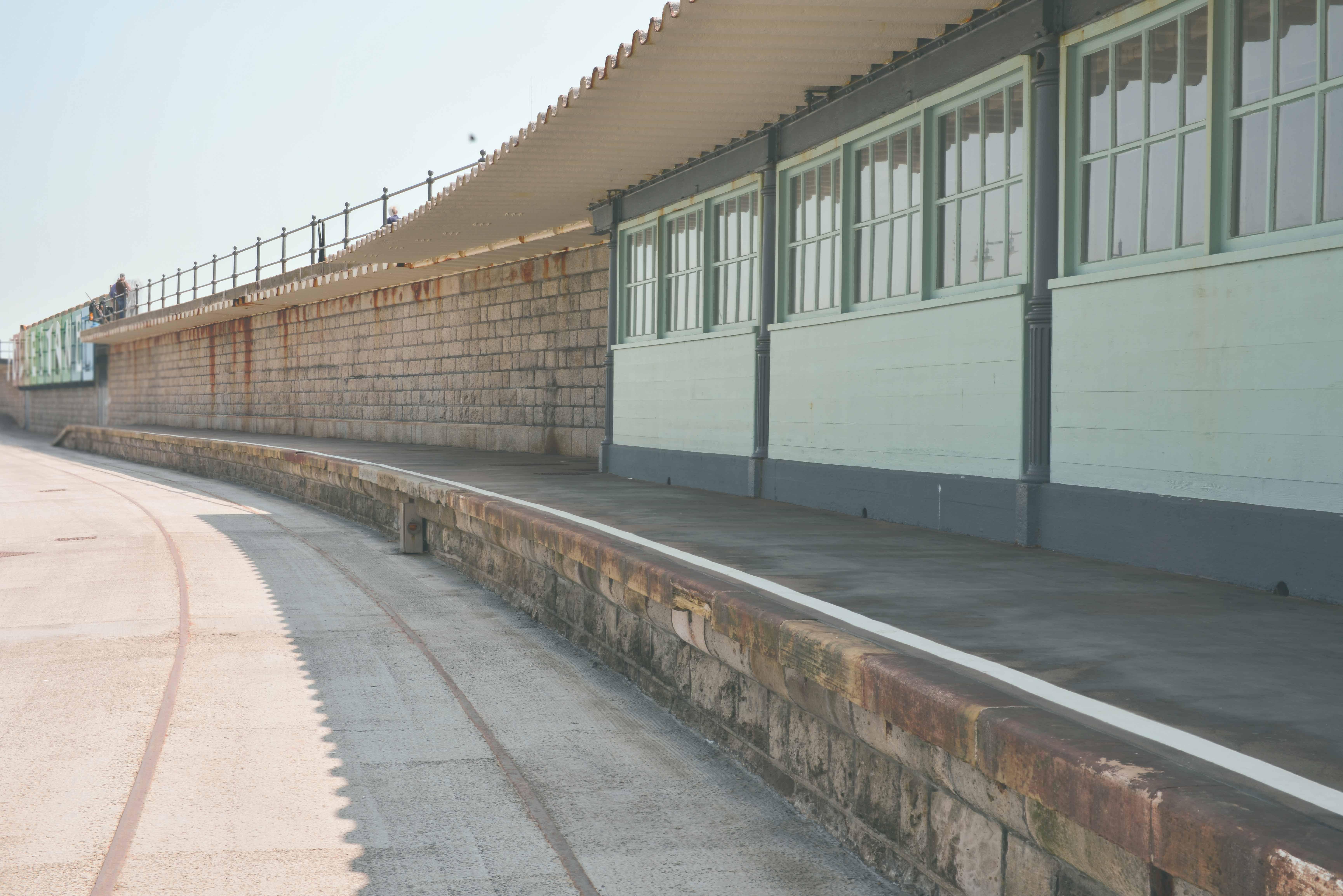 Folkestone Harbour Platform