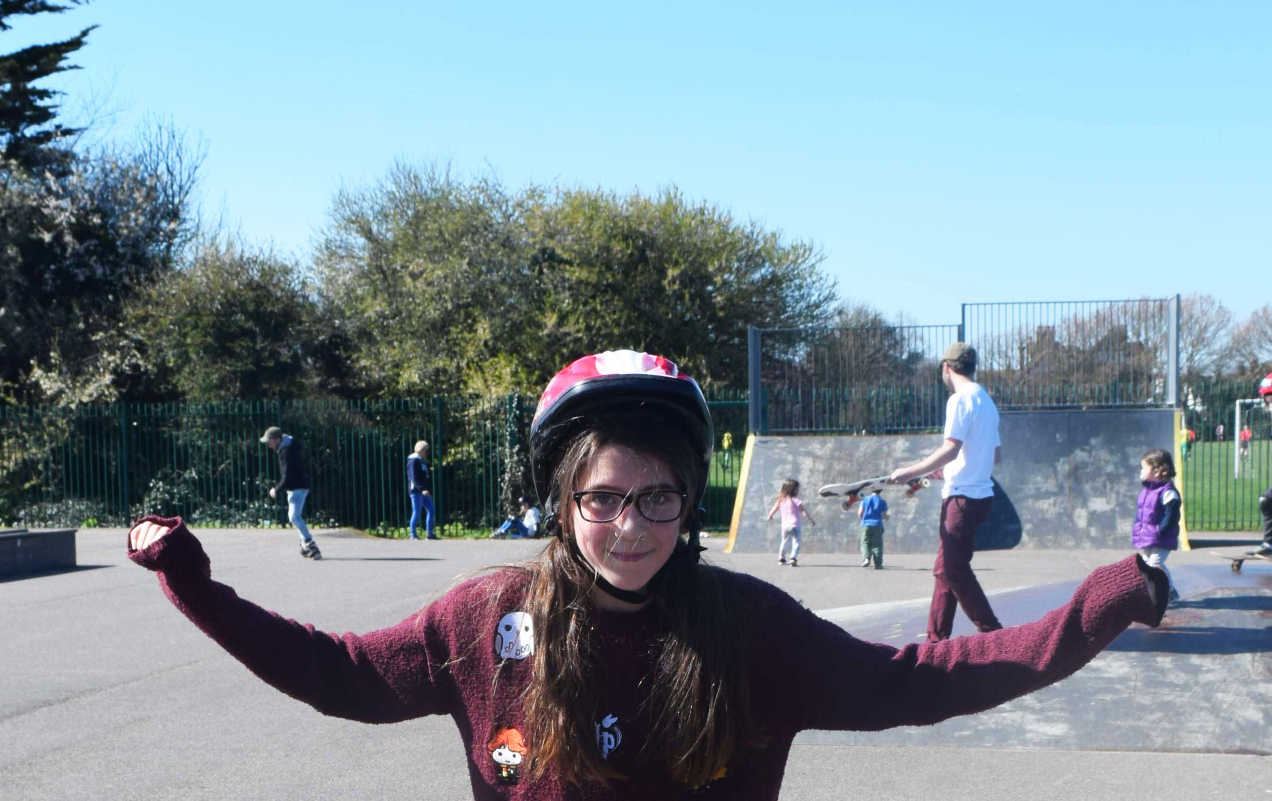 Girl Riders Ta Da!
