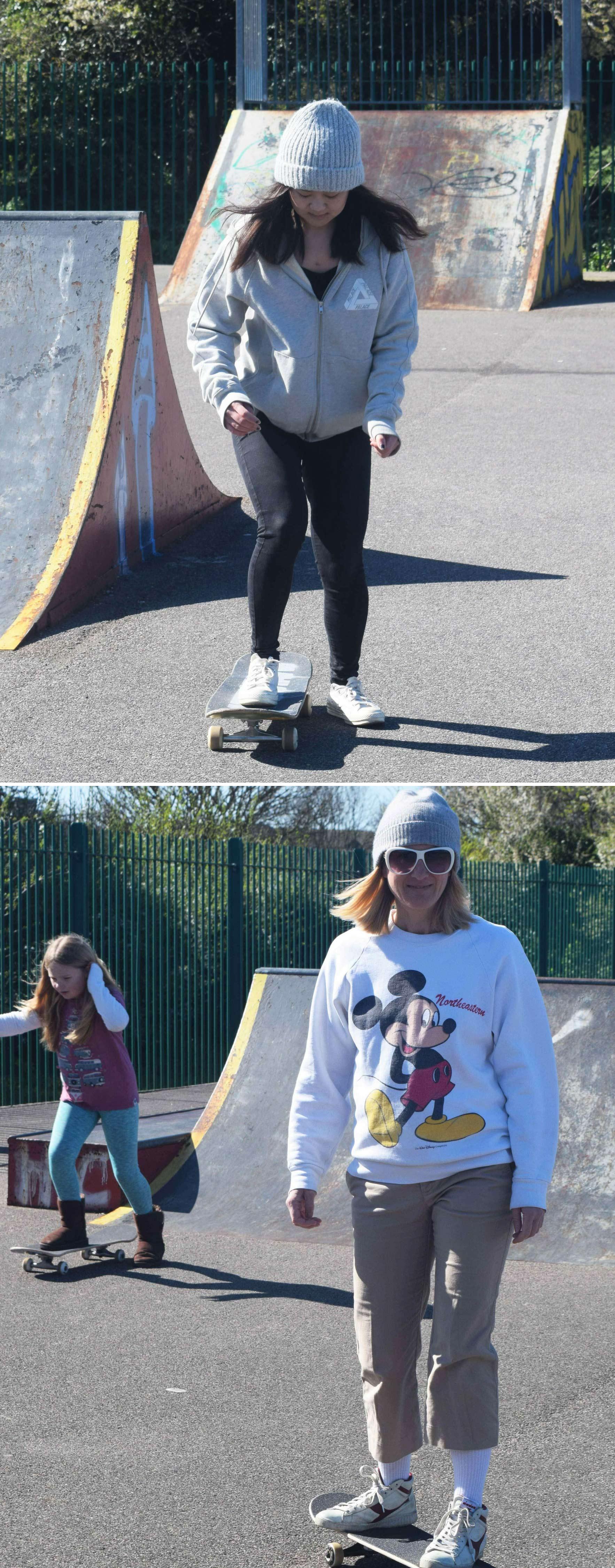 Folkestone Girl Skateboard Riders