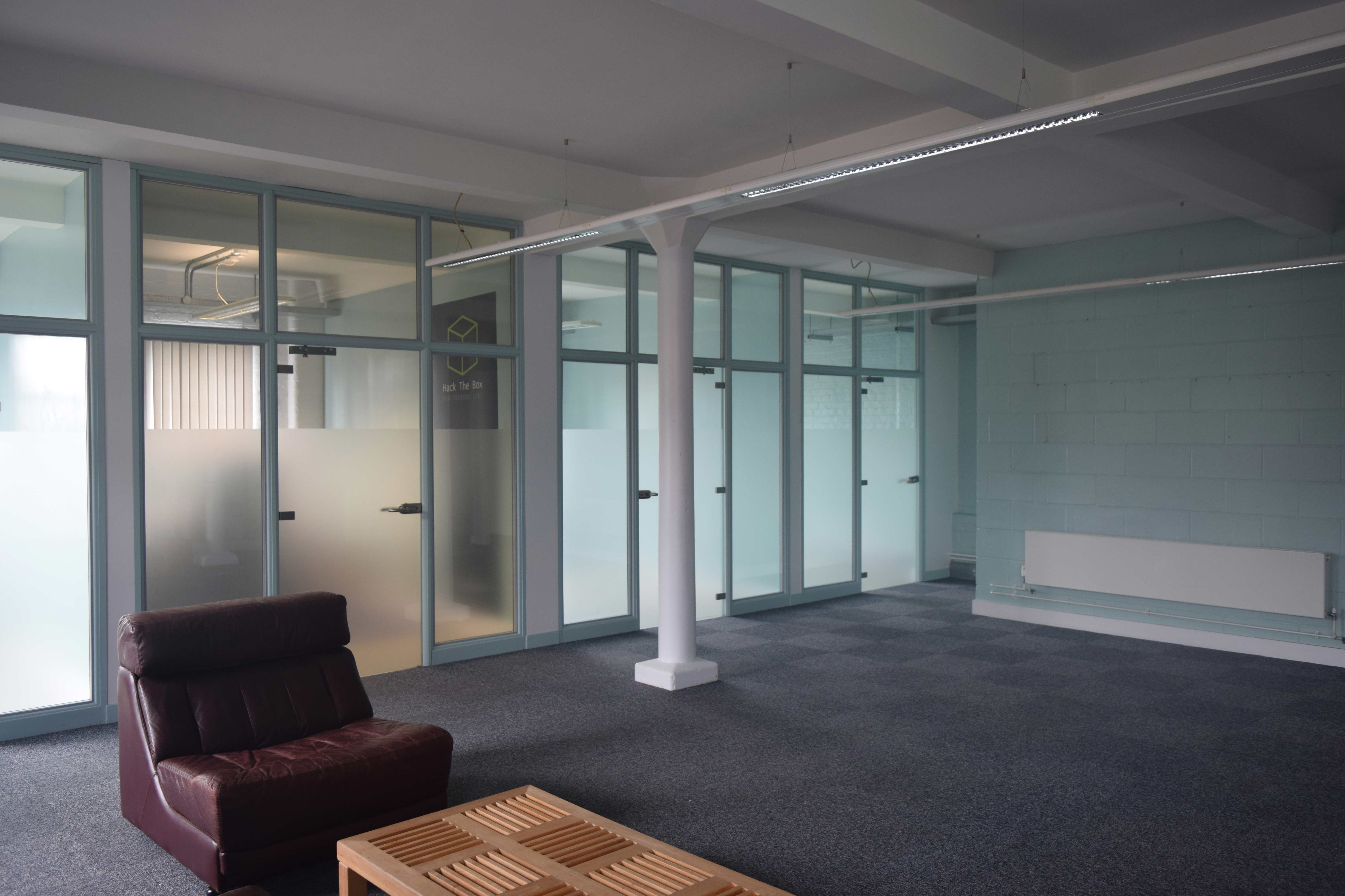 Glassworks small office