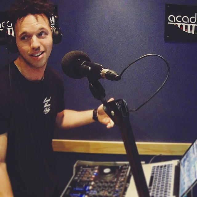 Cedric at Academy FM Folkestone