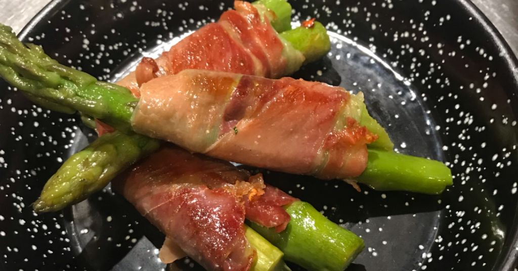 El Cortador Asparagus and Ham
