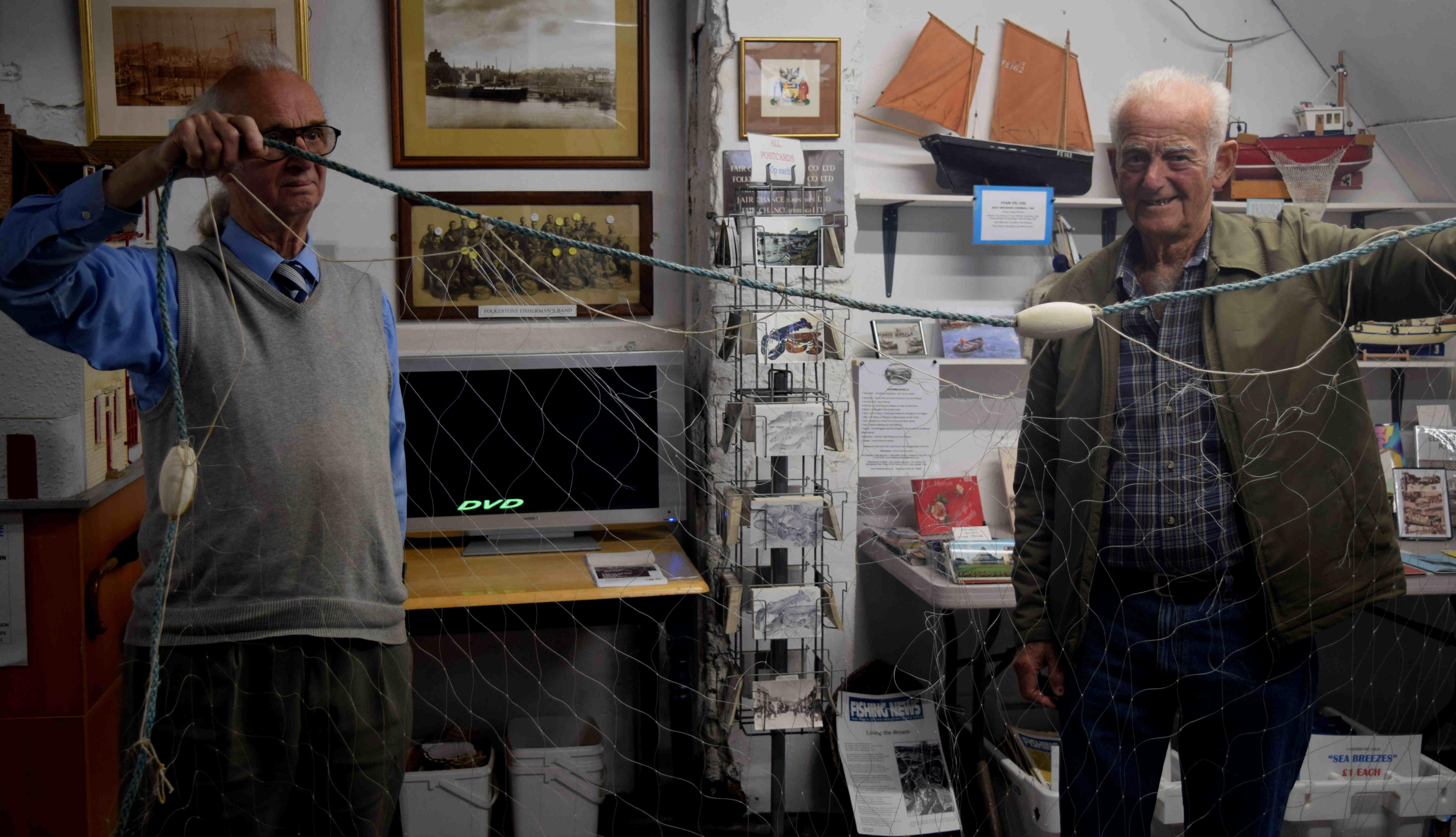 Folkestone Fishing Museum Gill Net