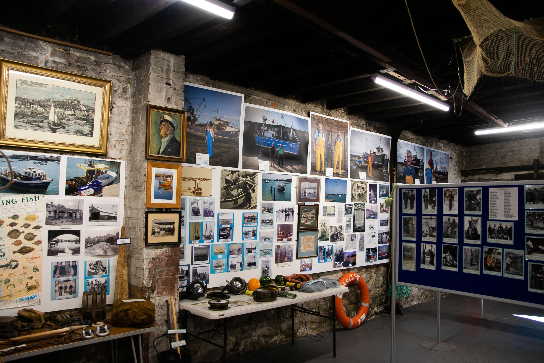 Folkestone Fishing Museum Wall