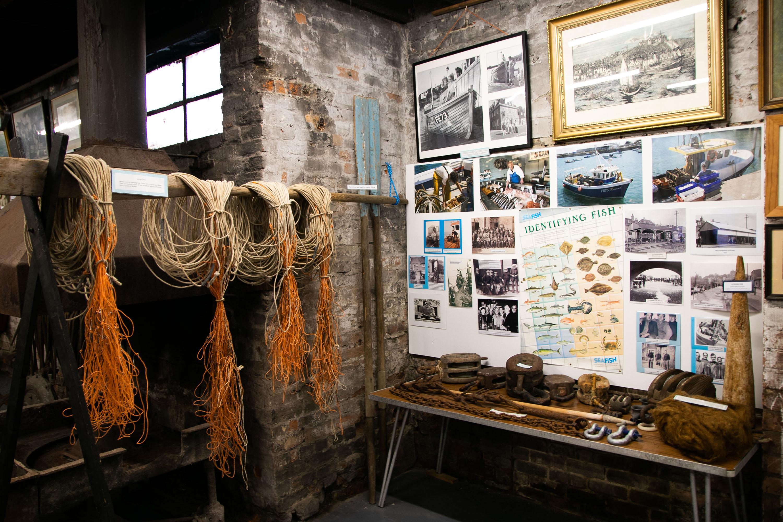 Folkestone Fishing Museum Lines