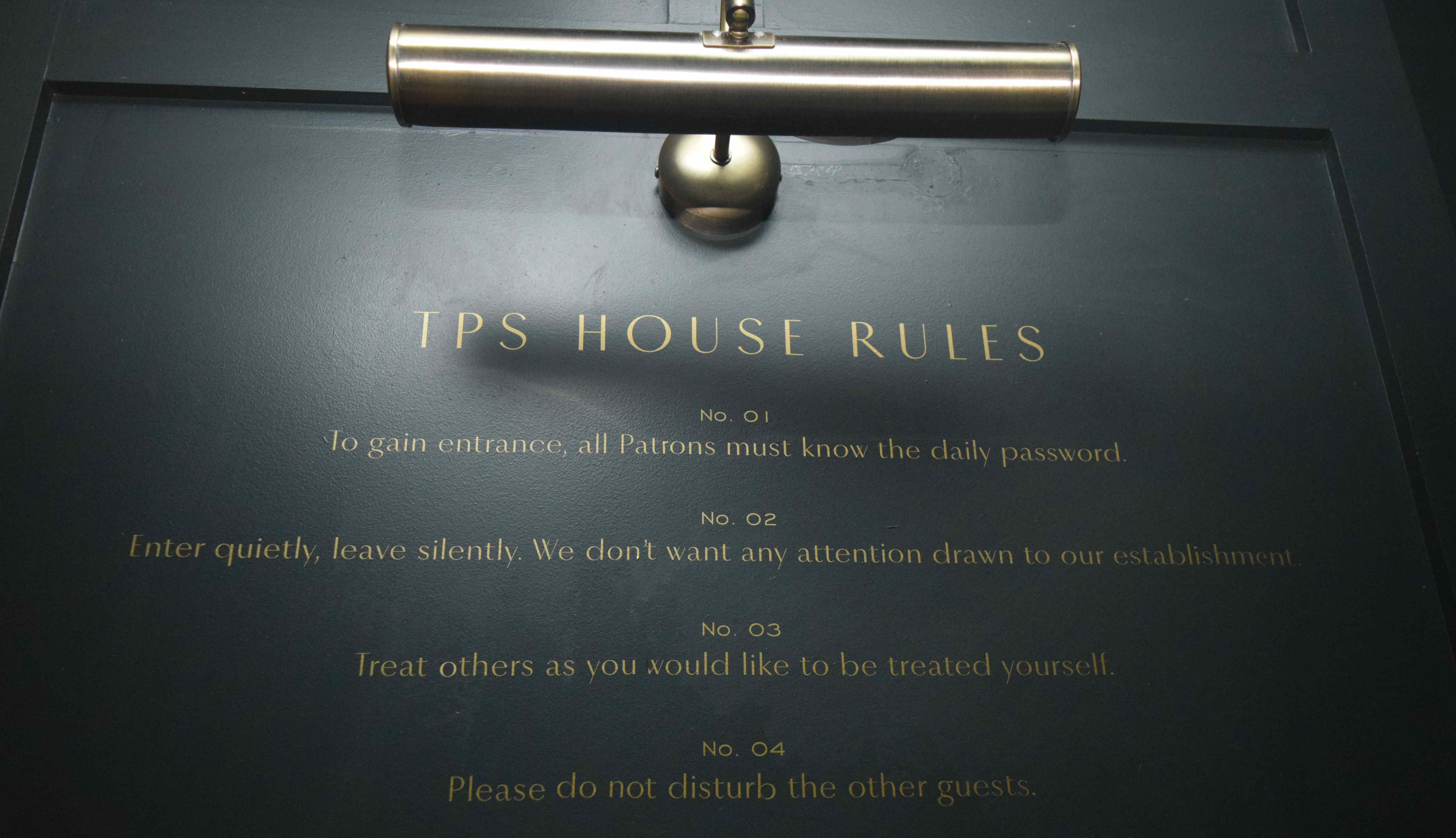 The Potting Shed House Rules