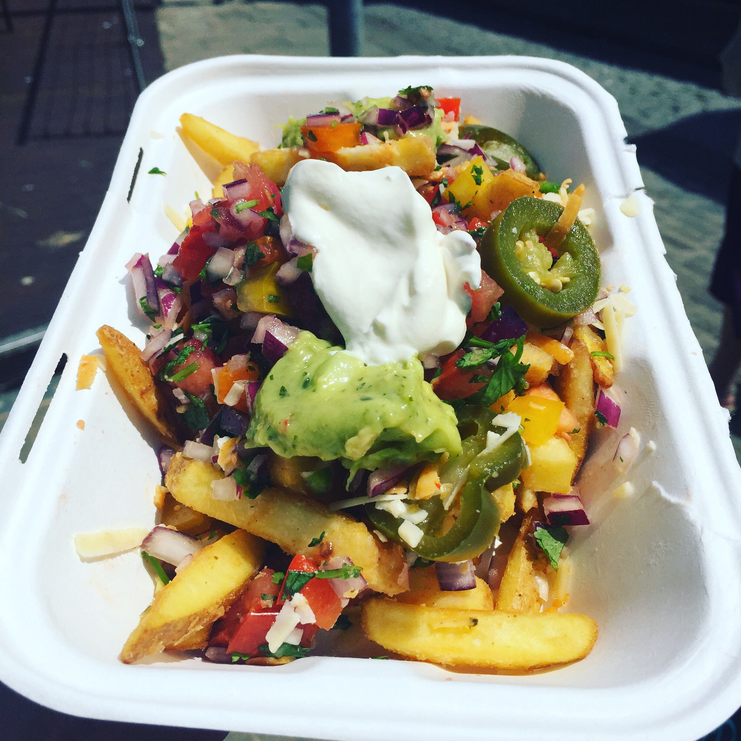 Yo-Yo's loaded fries