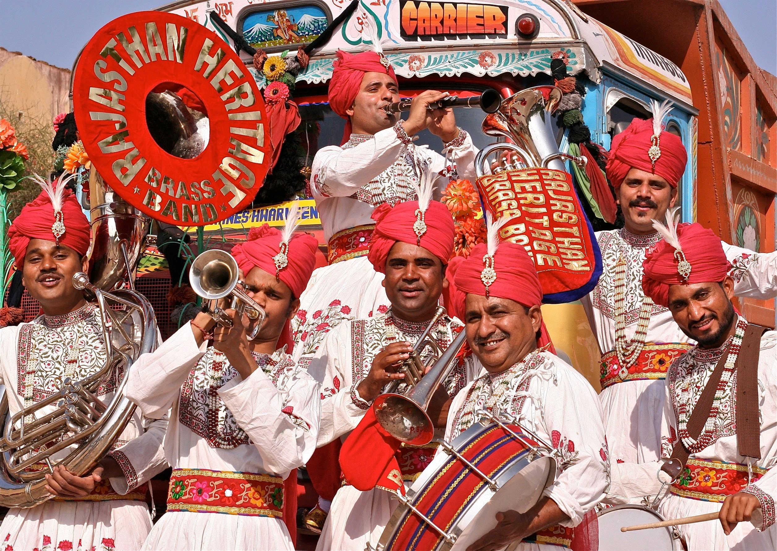 Big Sounds Rajasthan Heritage Brass Band