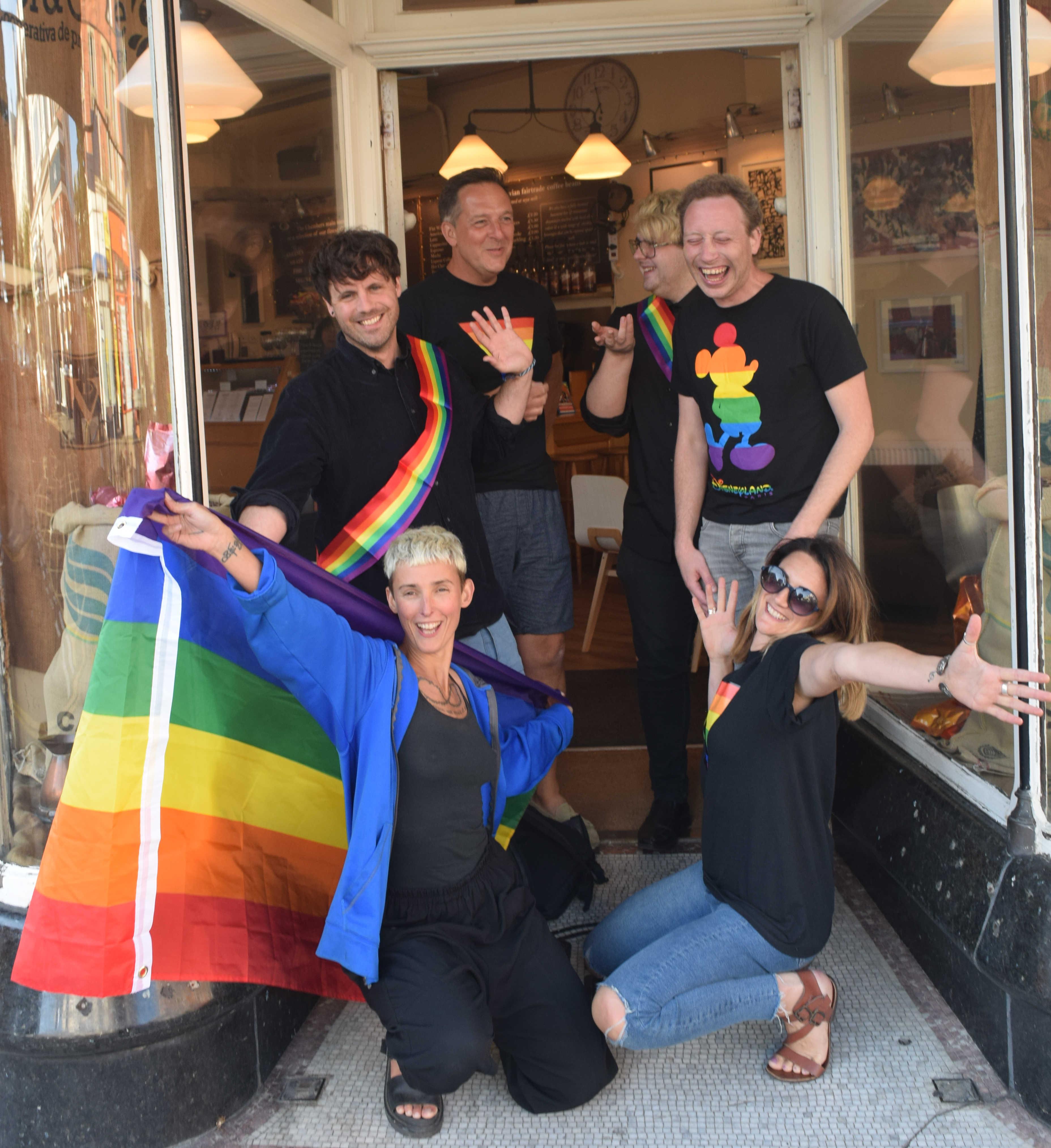 Folkestone Pride Team