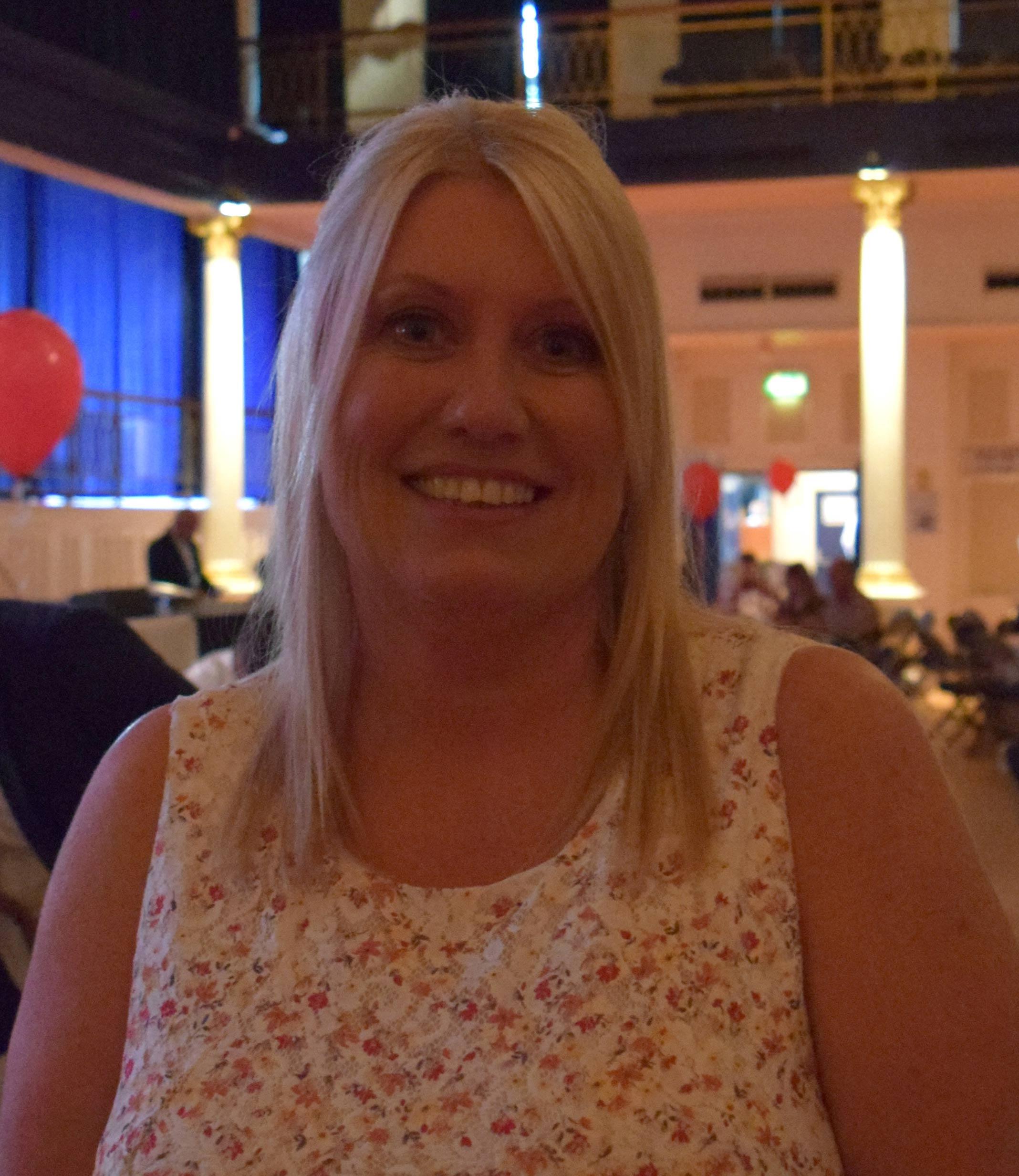 Shepway Sports Trust Awards JoAnne Arnold