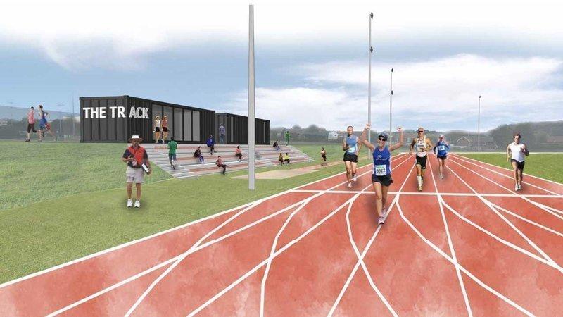 Folkestone Running Track Plan