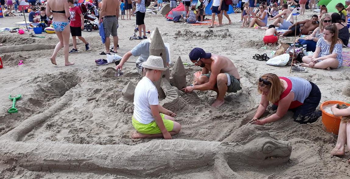 Sandcastle Competition Dragon