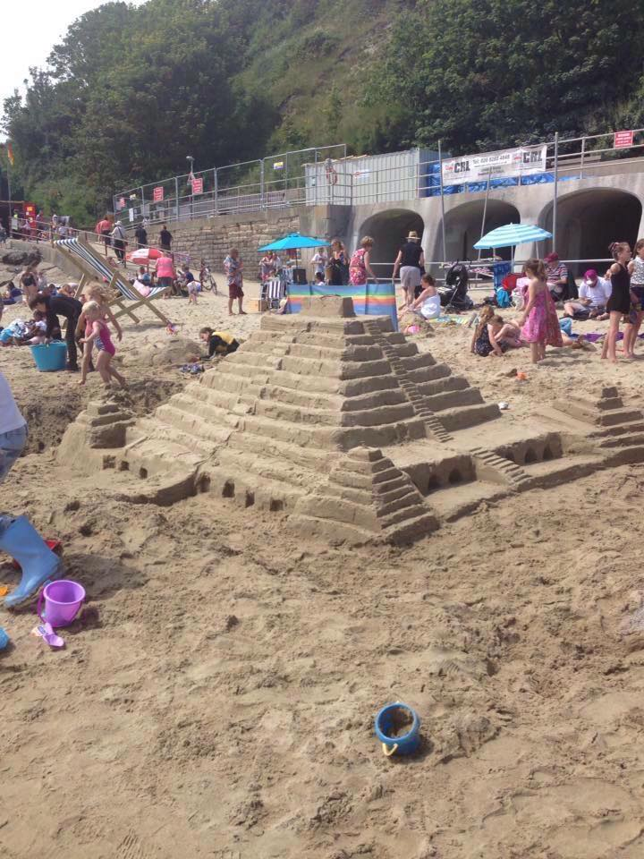 Sandcastle Competition Step Pyramid