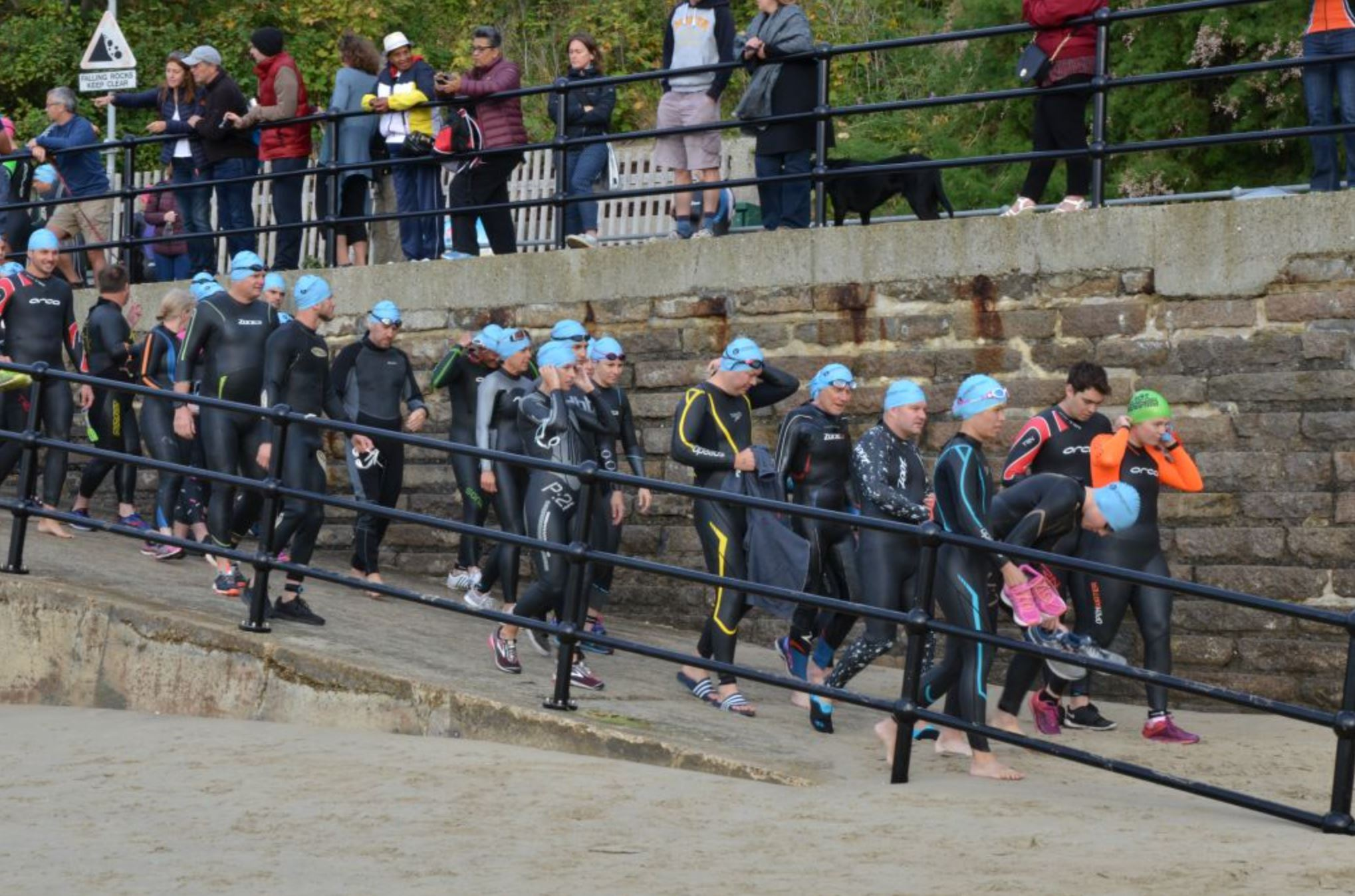 Channel Tri Swimmers Credit Lee Robinson