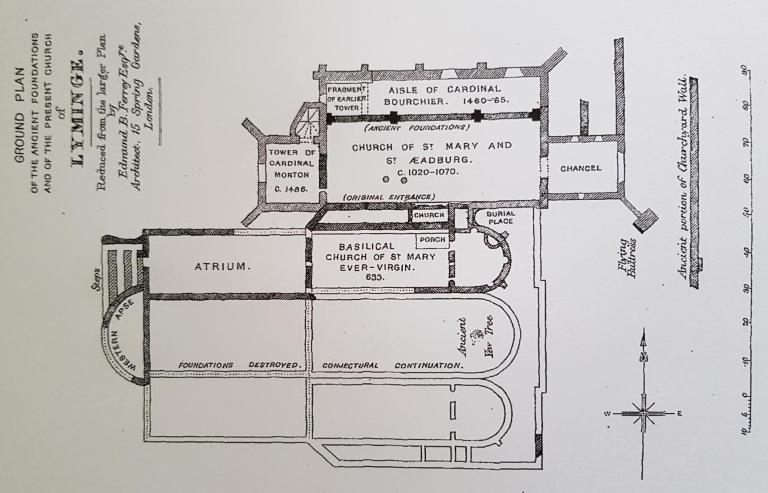 St Ethelburga Jenkins Plan from 1875