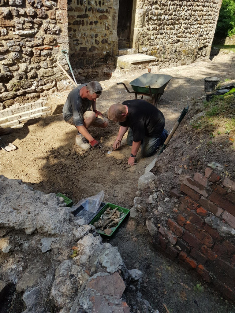 St Ethelburga Excavations