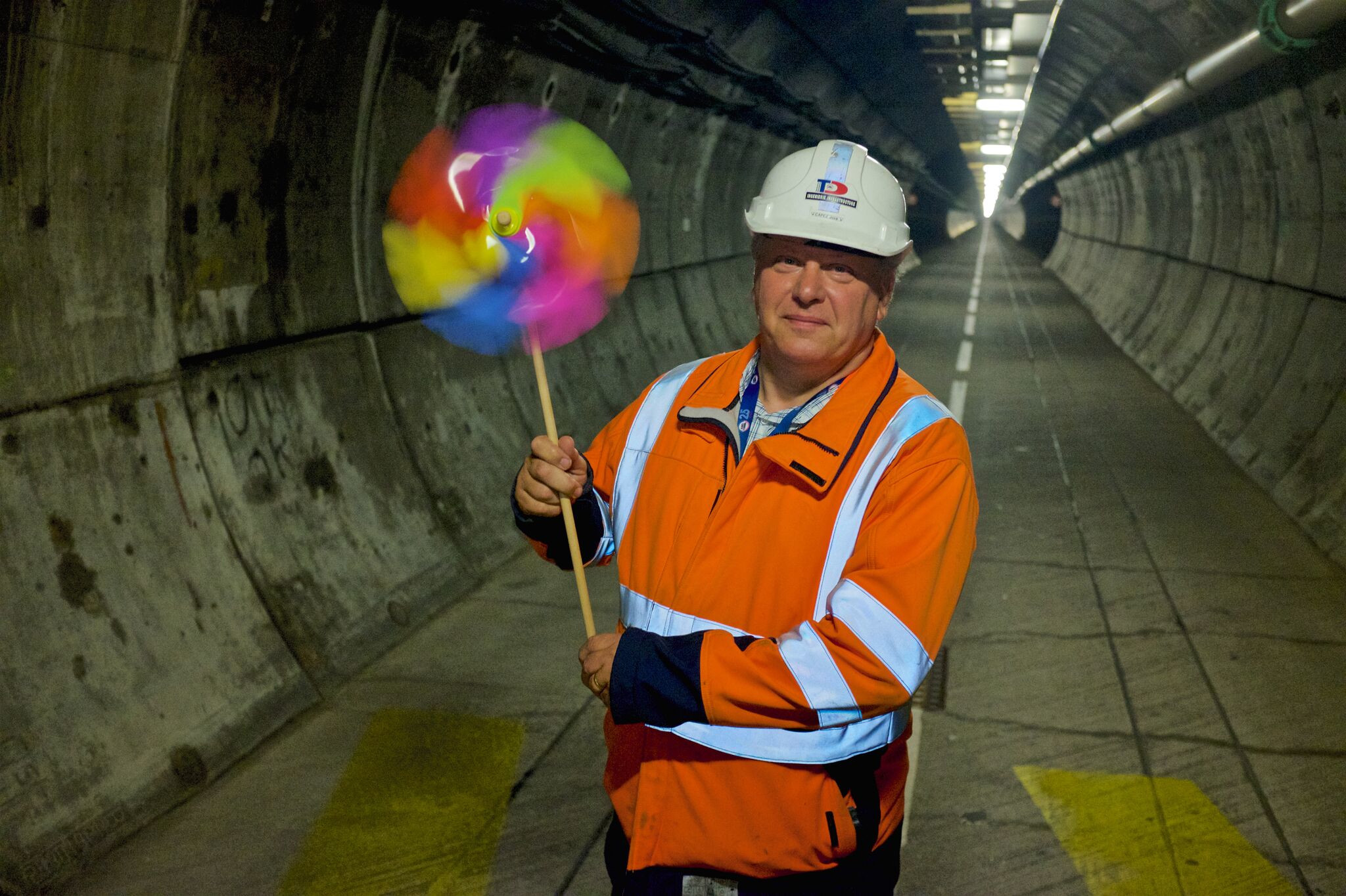 Channel Tunnel Senior Technician Credit BBC