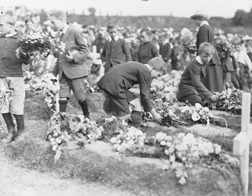 Shorncliffe Cemetery 1918