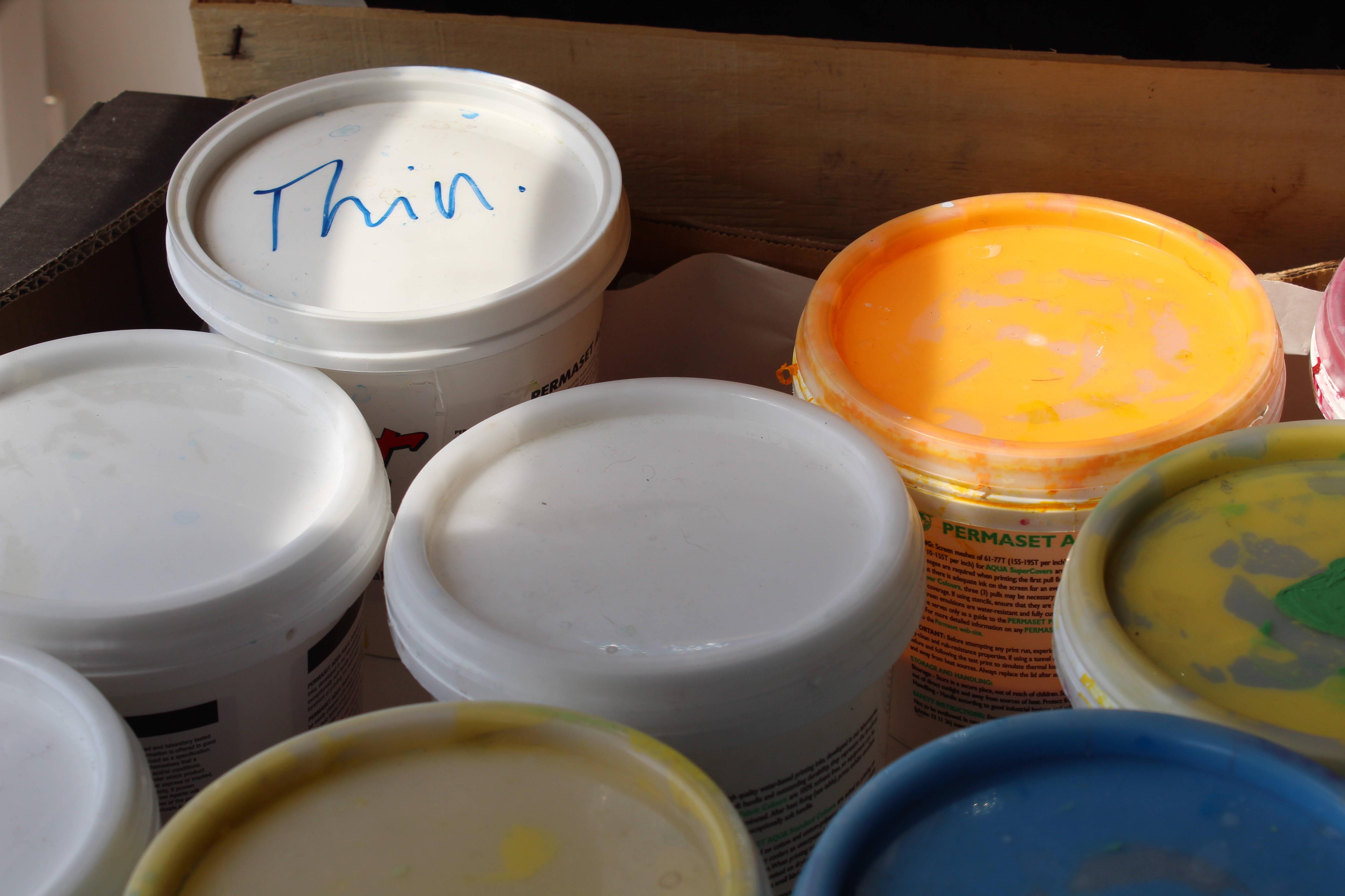 Sight Hound Pots of Paint