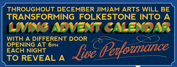 Folkestone Living Advent Calendar Banner