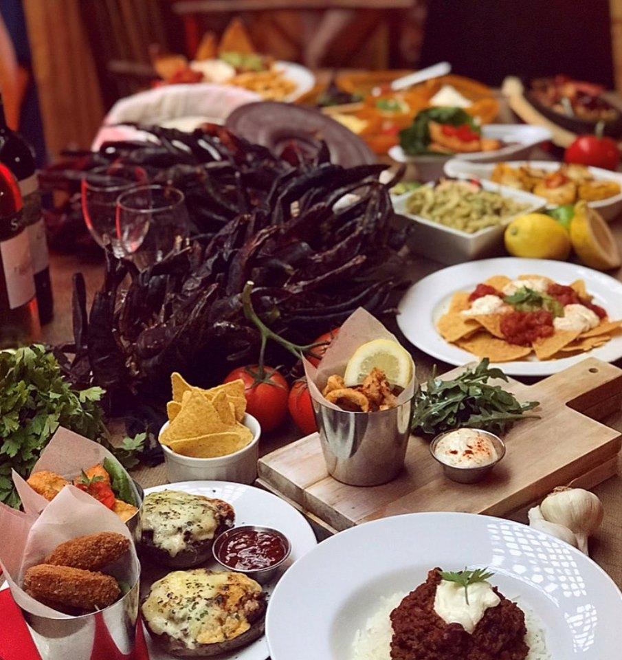 Folkestone Chambers Food