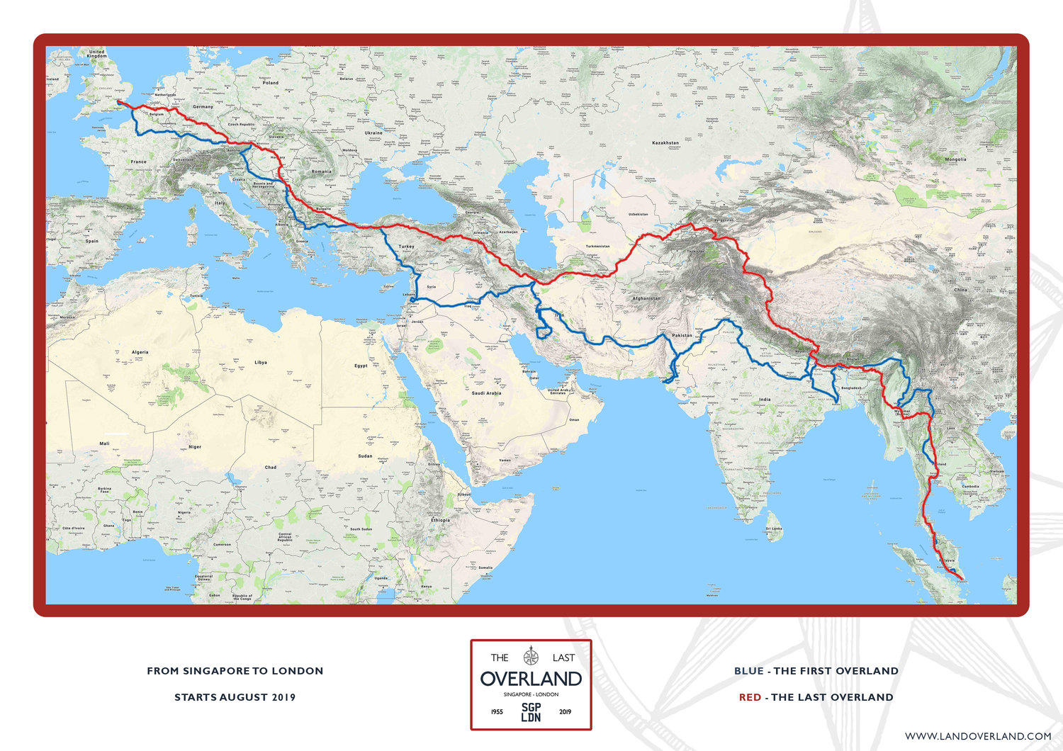 Last Overland Route