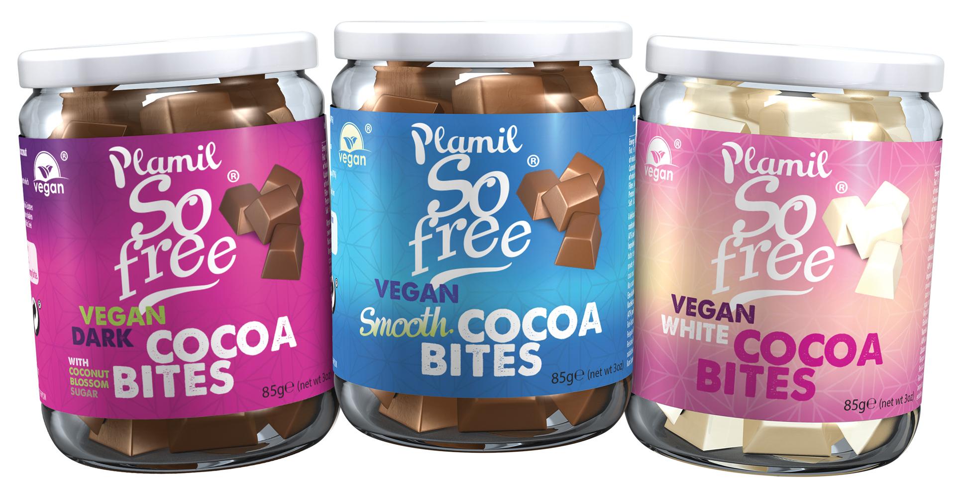 Plamil Cocoa bites