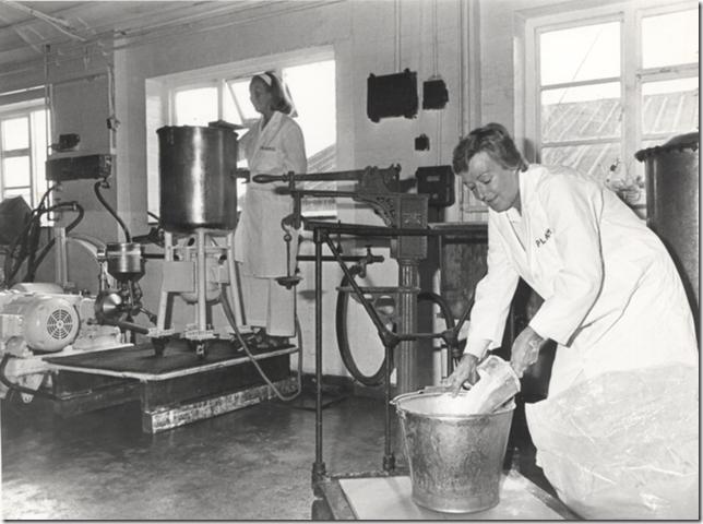 Plamil milk production 1970s