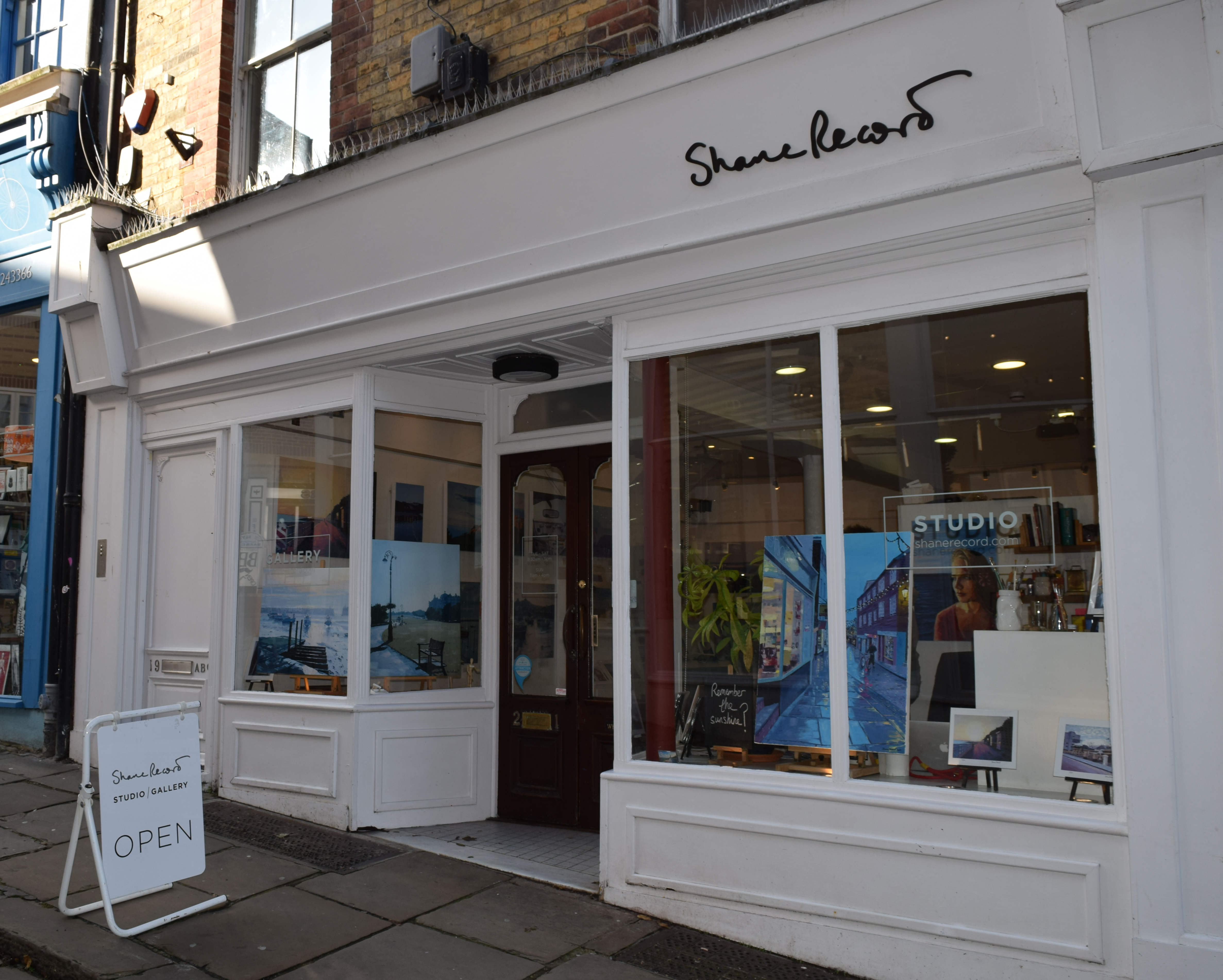 Shane Record Gallery Front