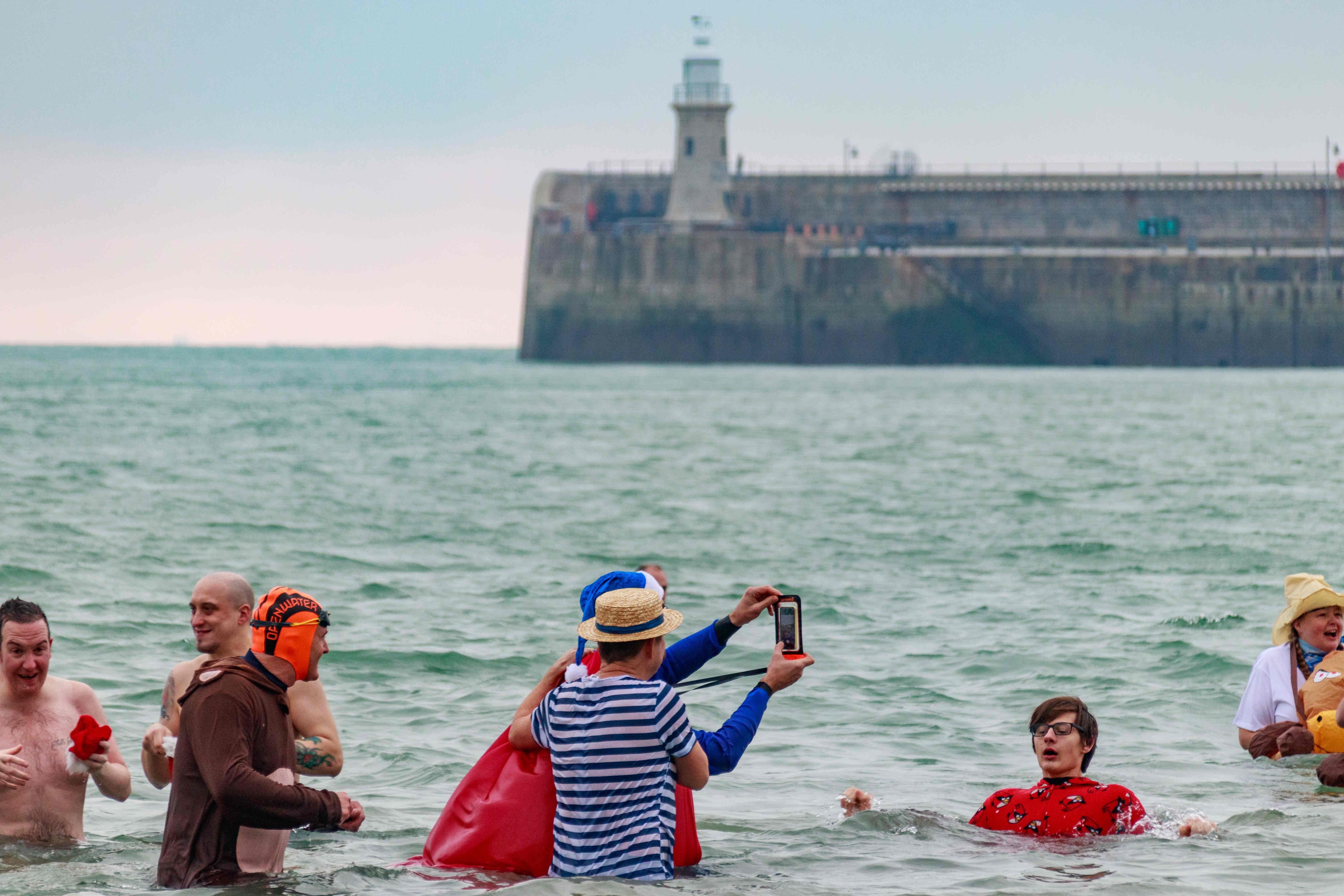 Boxing Day Dip Folkestone