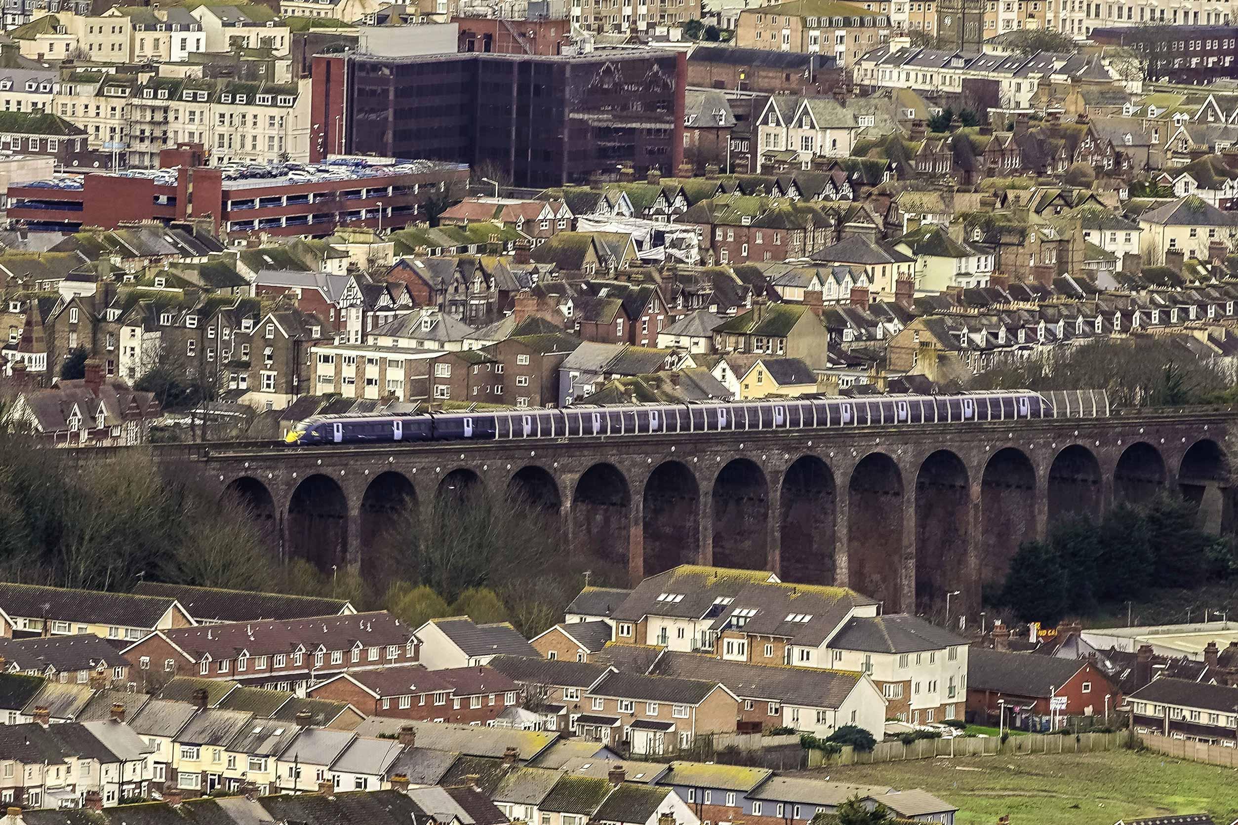 Railway Viaduct Dave Shackle HS1