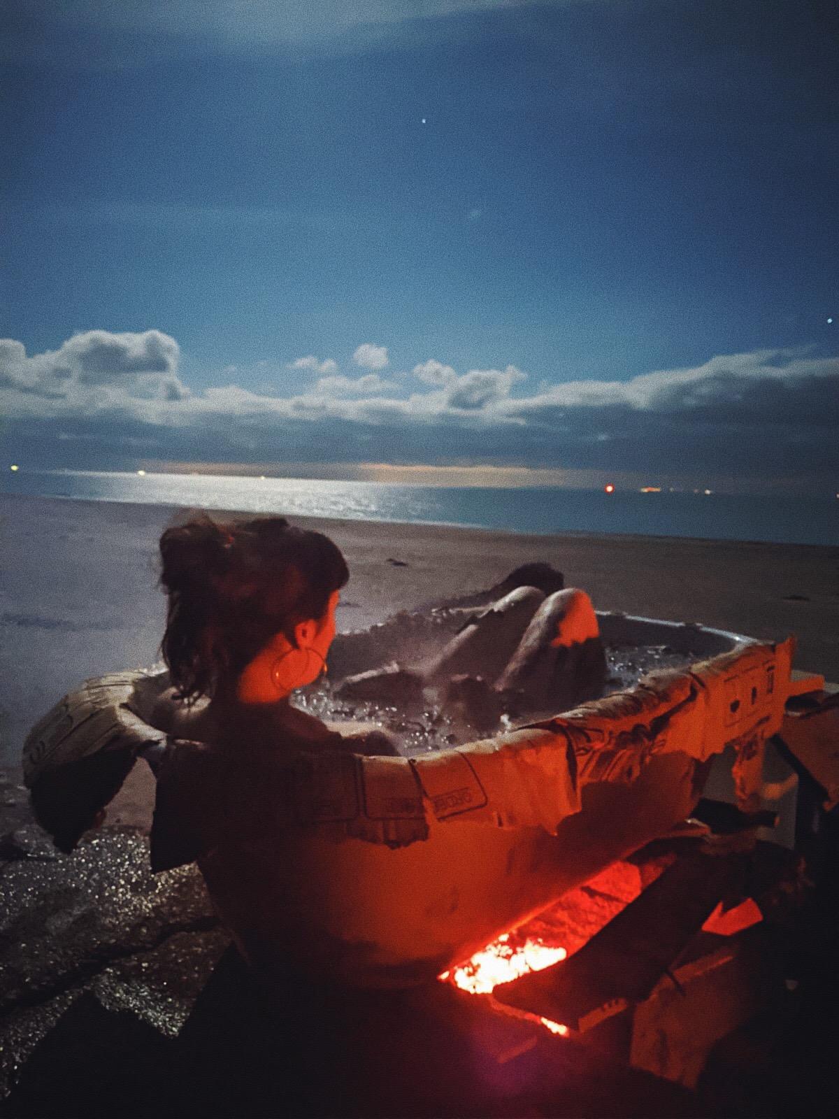 Seaweed Fire Bath Hannah Prizeman