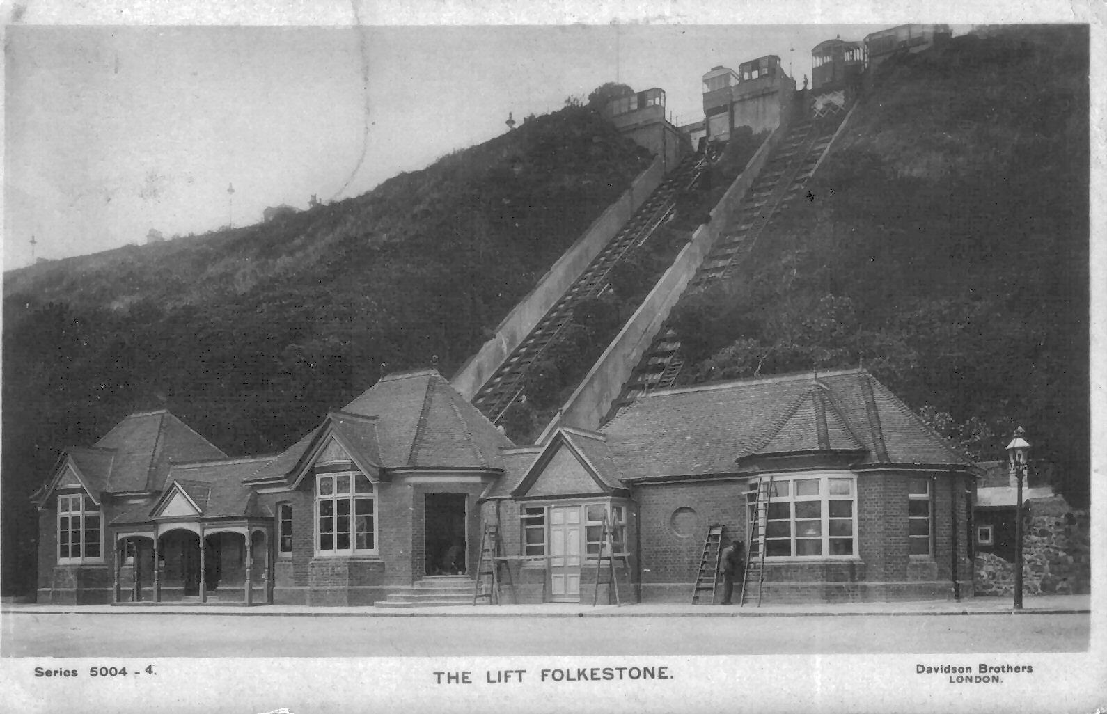1890 Leas Lift Postcard