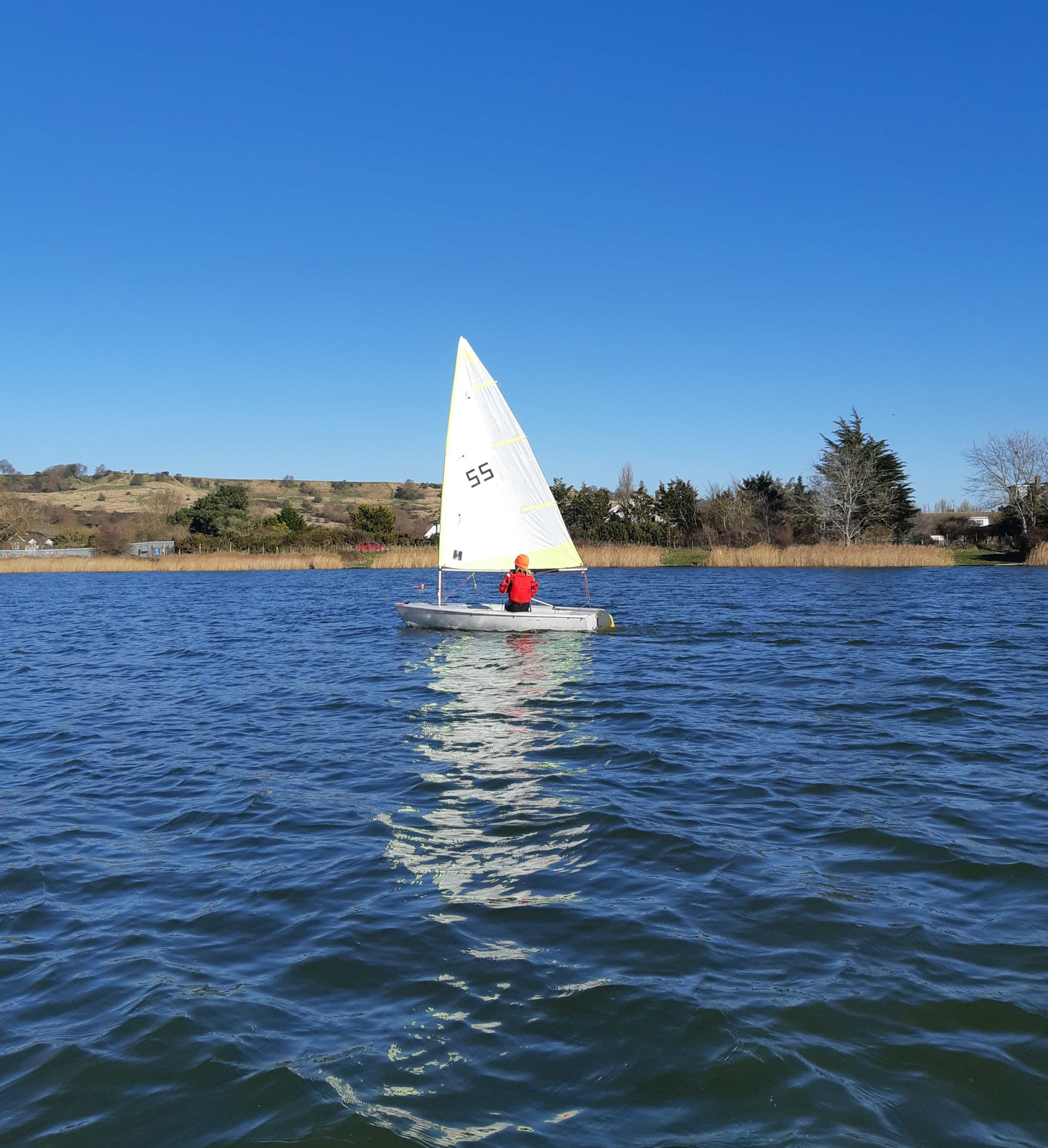 Sailing at Redoubt