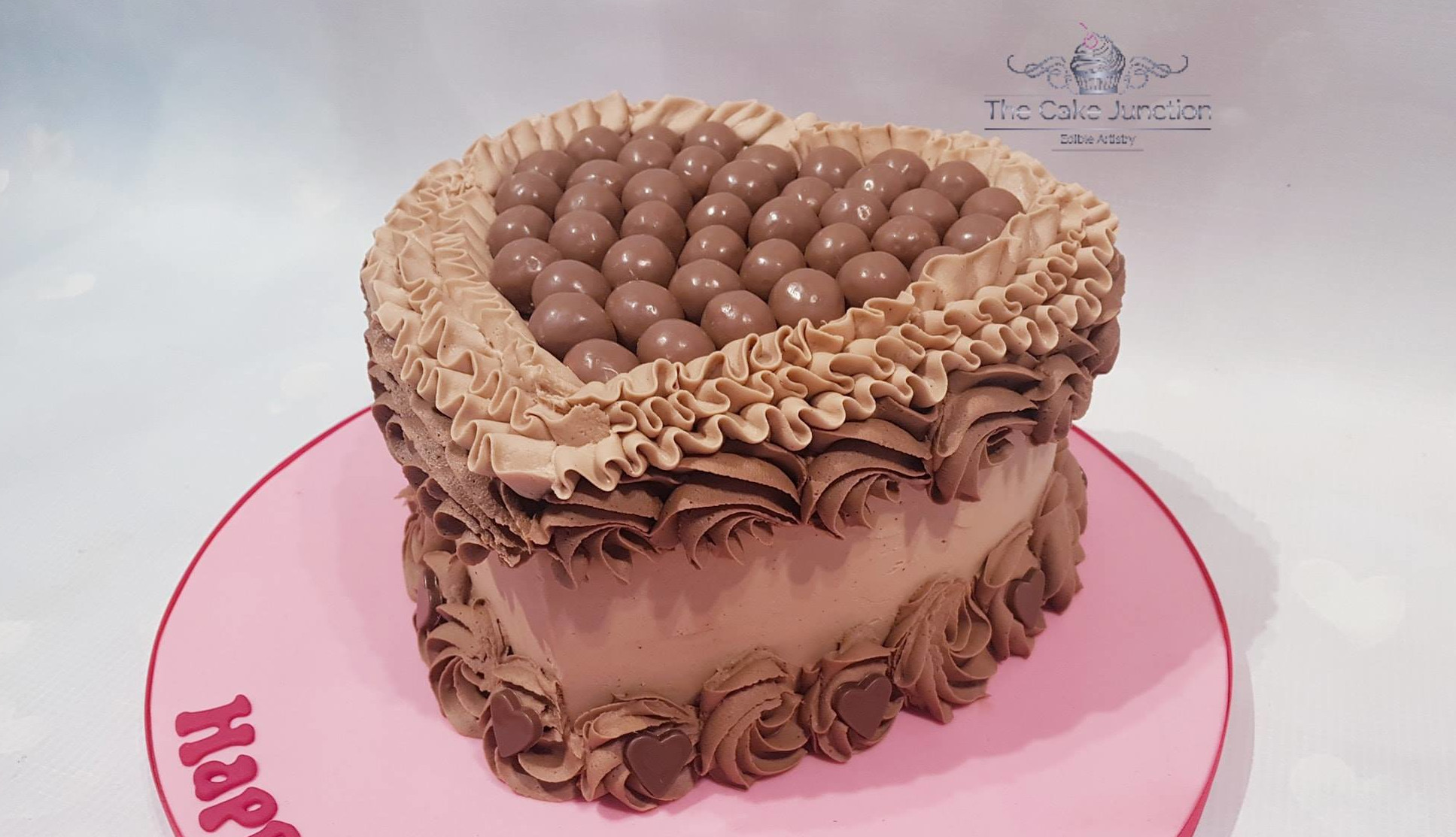 Chocolate Butter Cream Cake Junction