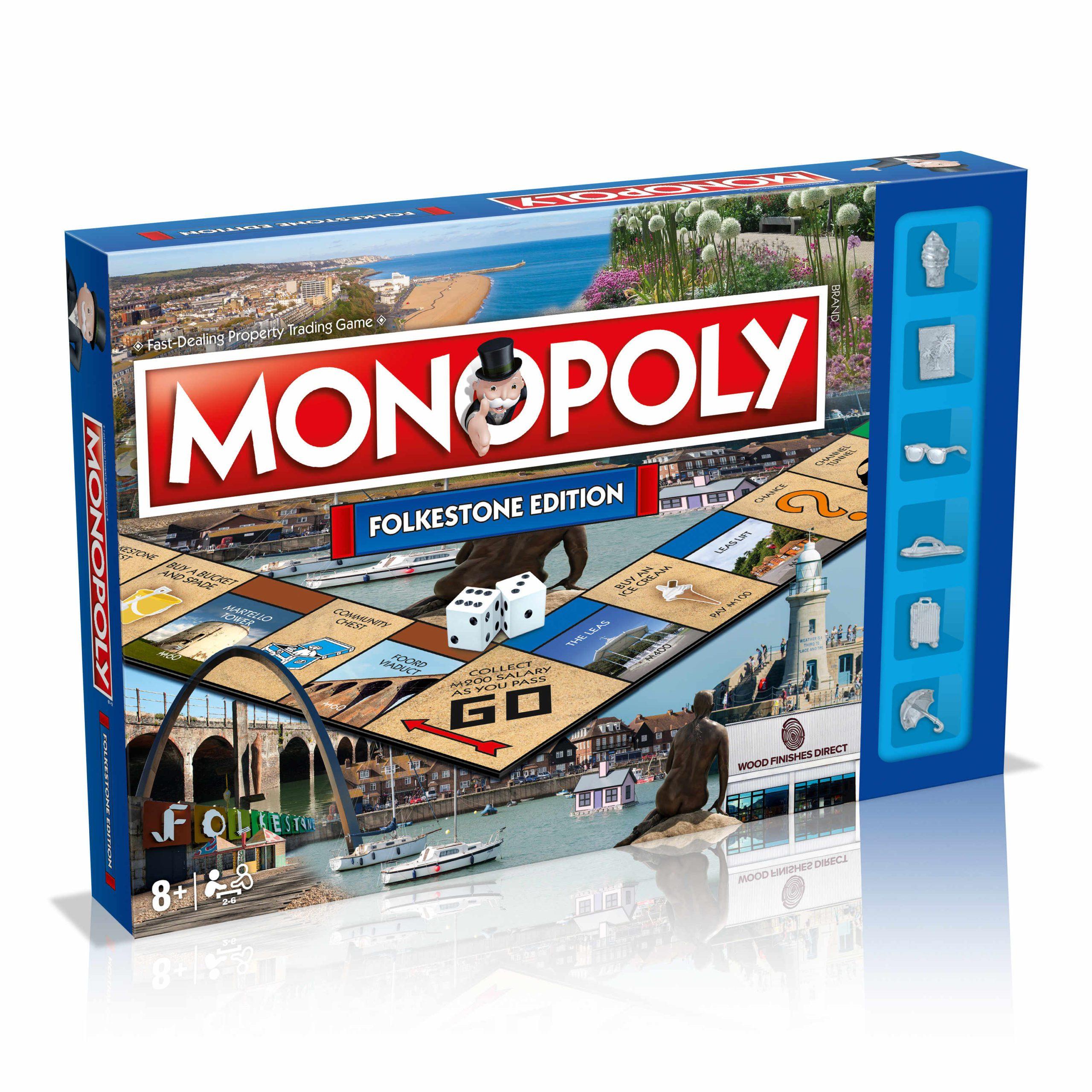 Folkestone Monopoly Board