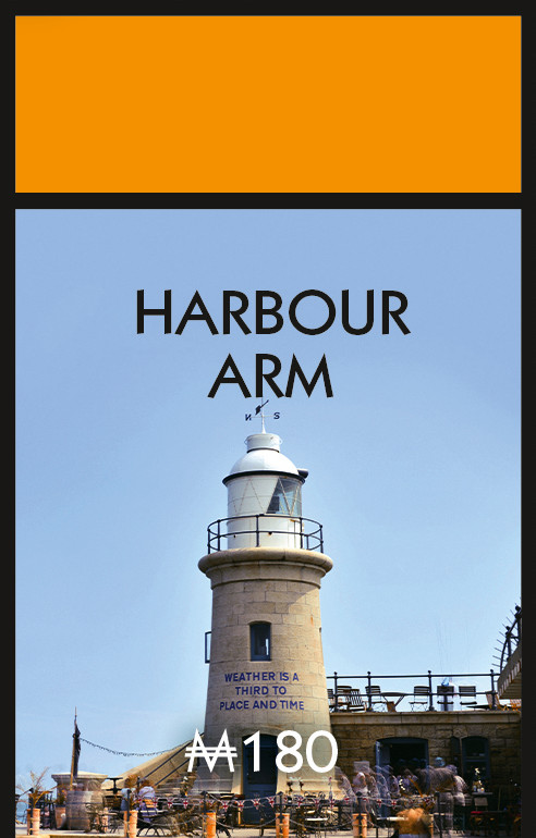 Harbour Arm Monopoly Board