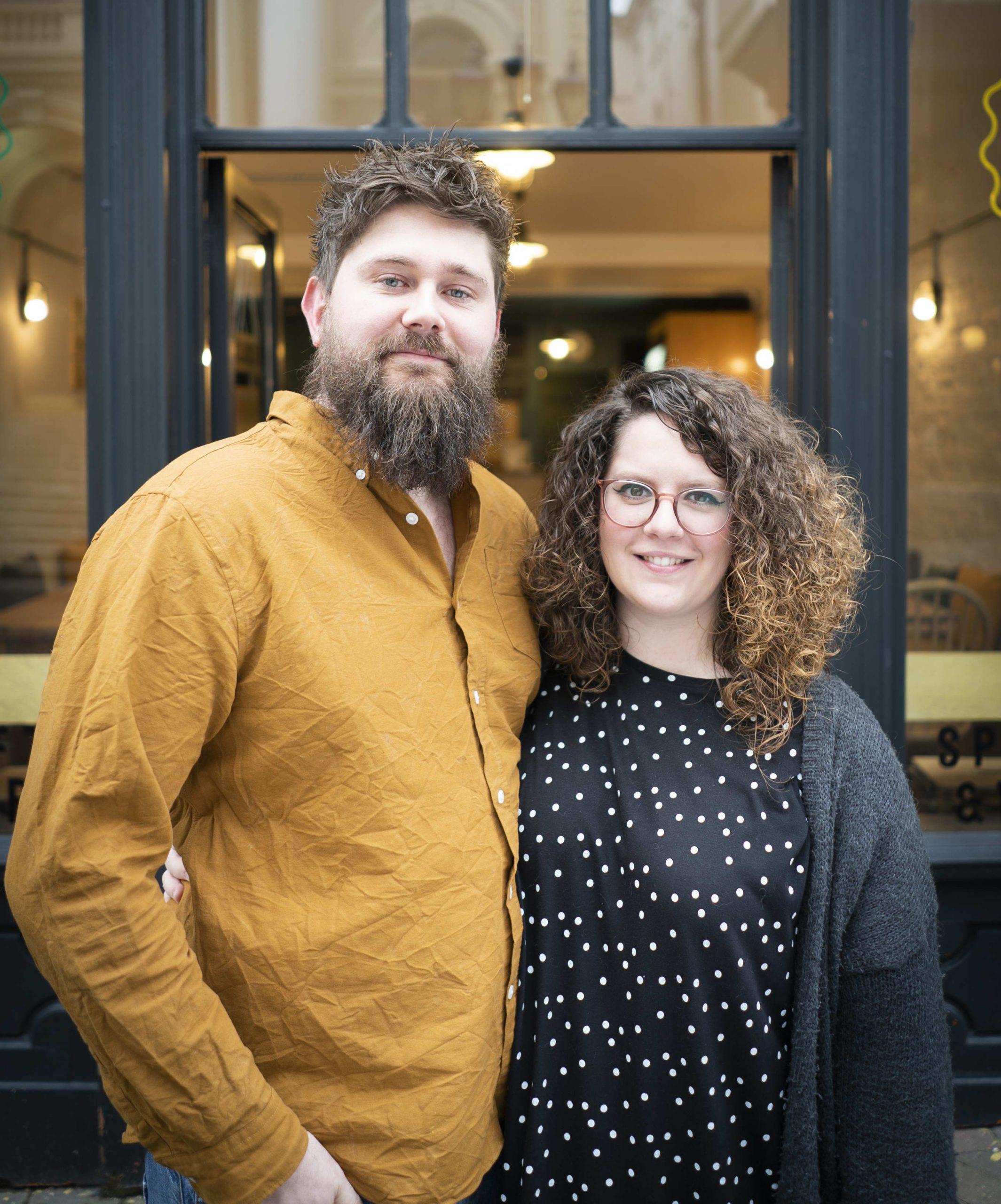 Lee and Lauren The Beer Shop