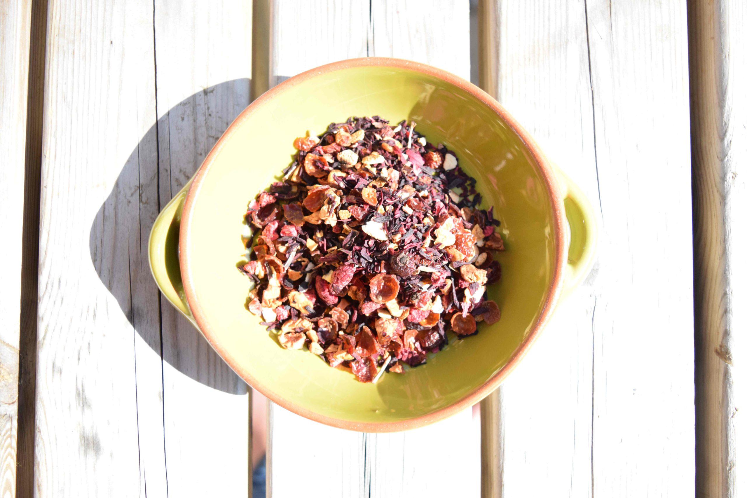 Debonair Tea Raspberry and Orange