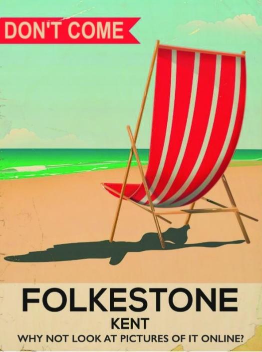 Folkestone Comedy Club Poster
