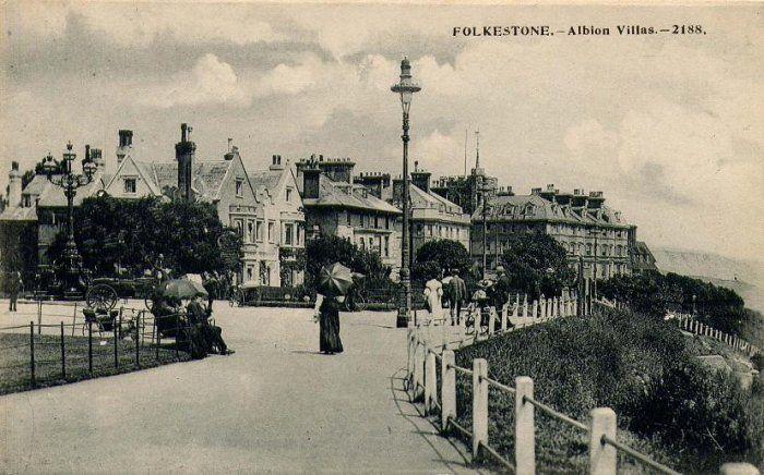 Folkestone WW1 Albion Villas